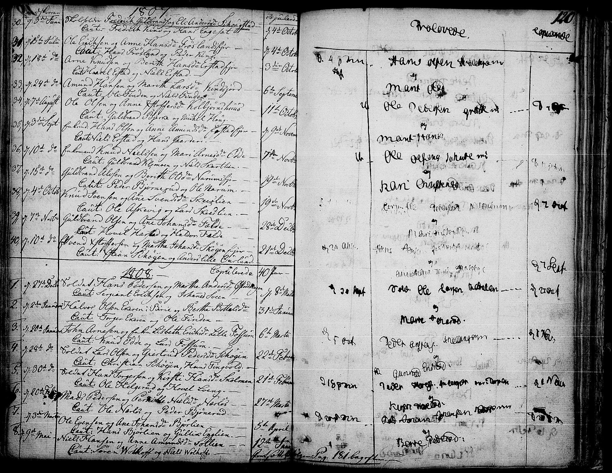 SAH, Land prestekontor, Ministerialbok nr. 6, 1784-1813, s. 120