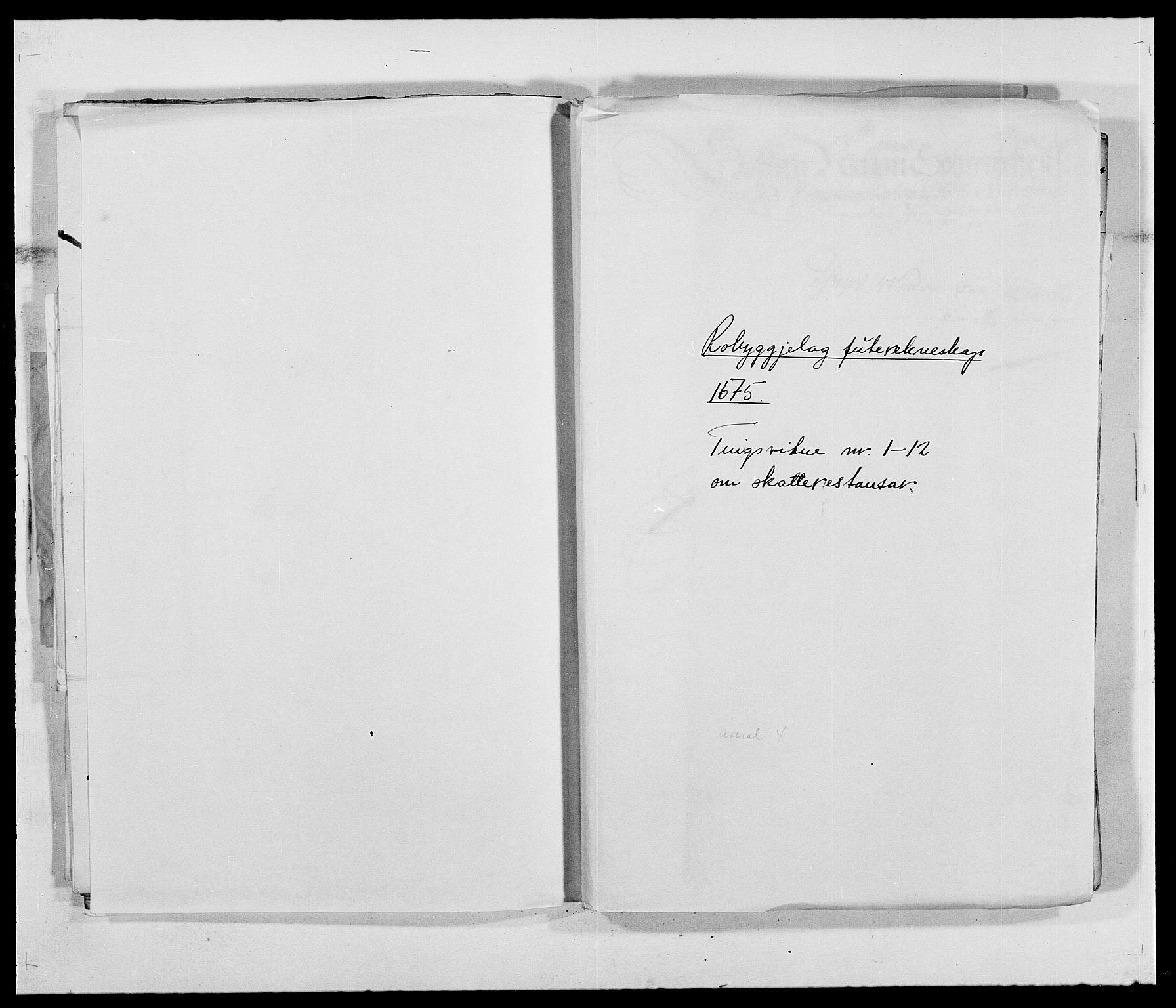 RA, Rentekammeret inntil 1814, Reviderte regnskaper, Fogderegnskap, R40/L2434: Fogderegnskap Råbyggelag, 1675-1676, s. 157