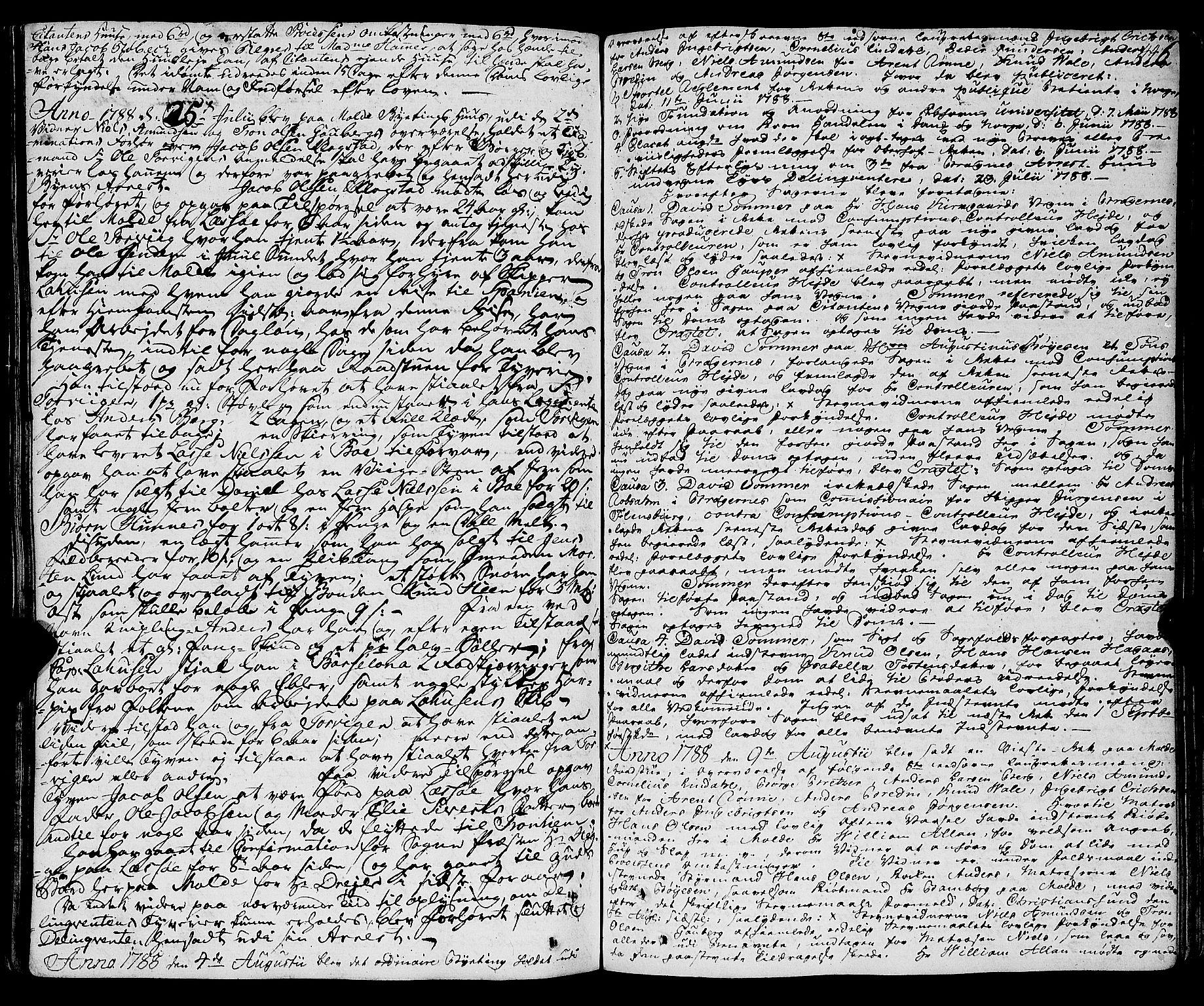 SAT, Molde byfogd, 1/1A/L0001: Justisprotokoll, 1764-1796, s. 447