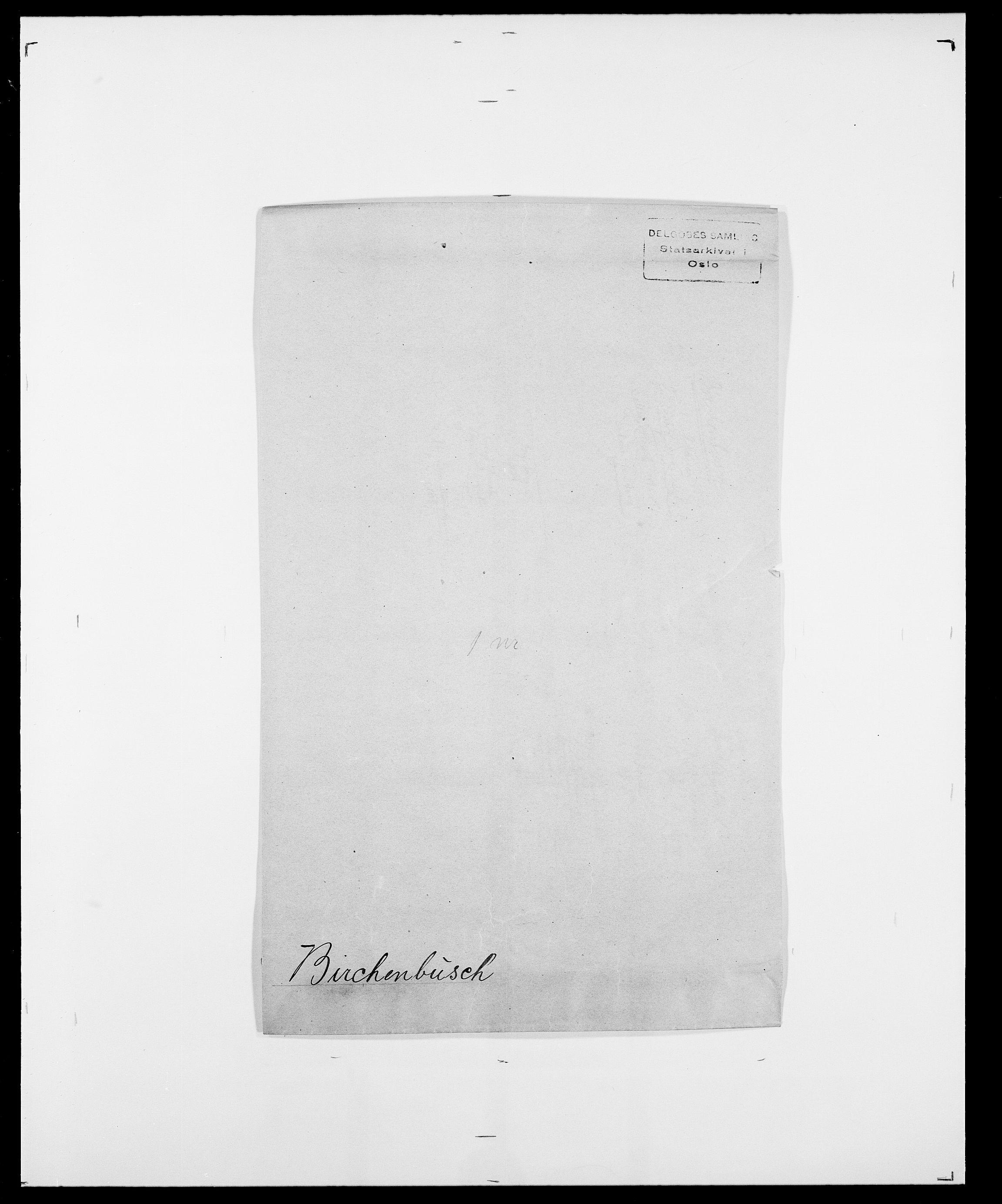 SAO, Delgobe, Charles Antoine - samling, D/Da/L0004: Bergendahl - Blære, s. 358