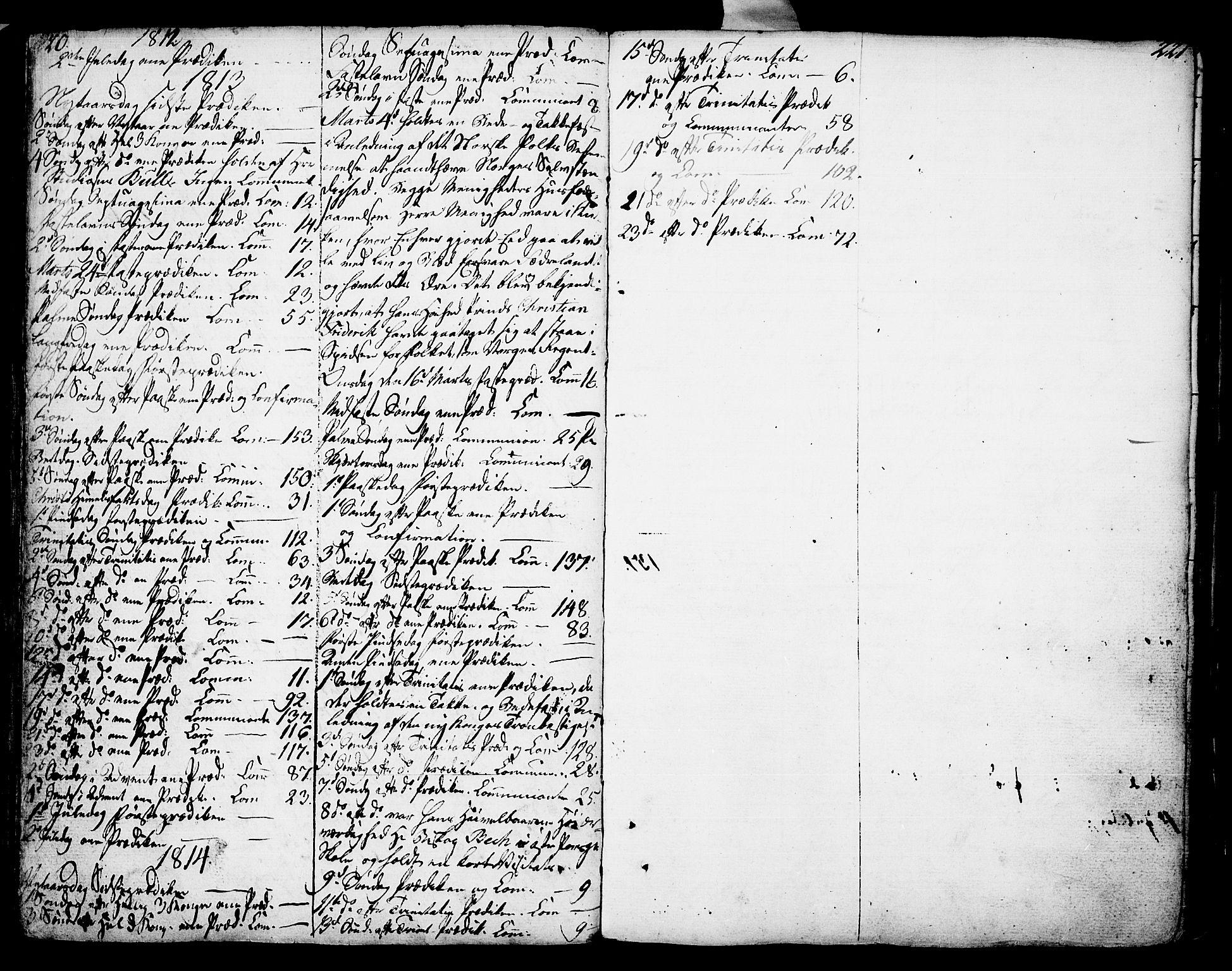 SAKO, Porsgrunn kirkebøker , F/Fa/L0002: Ministerialbok nr. 2, 1764-1814, s. 220-221