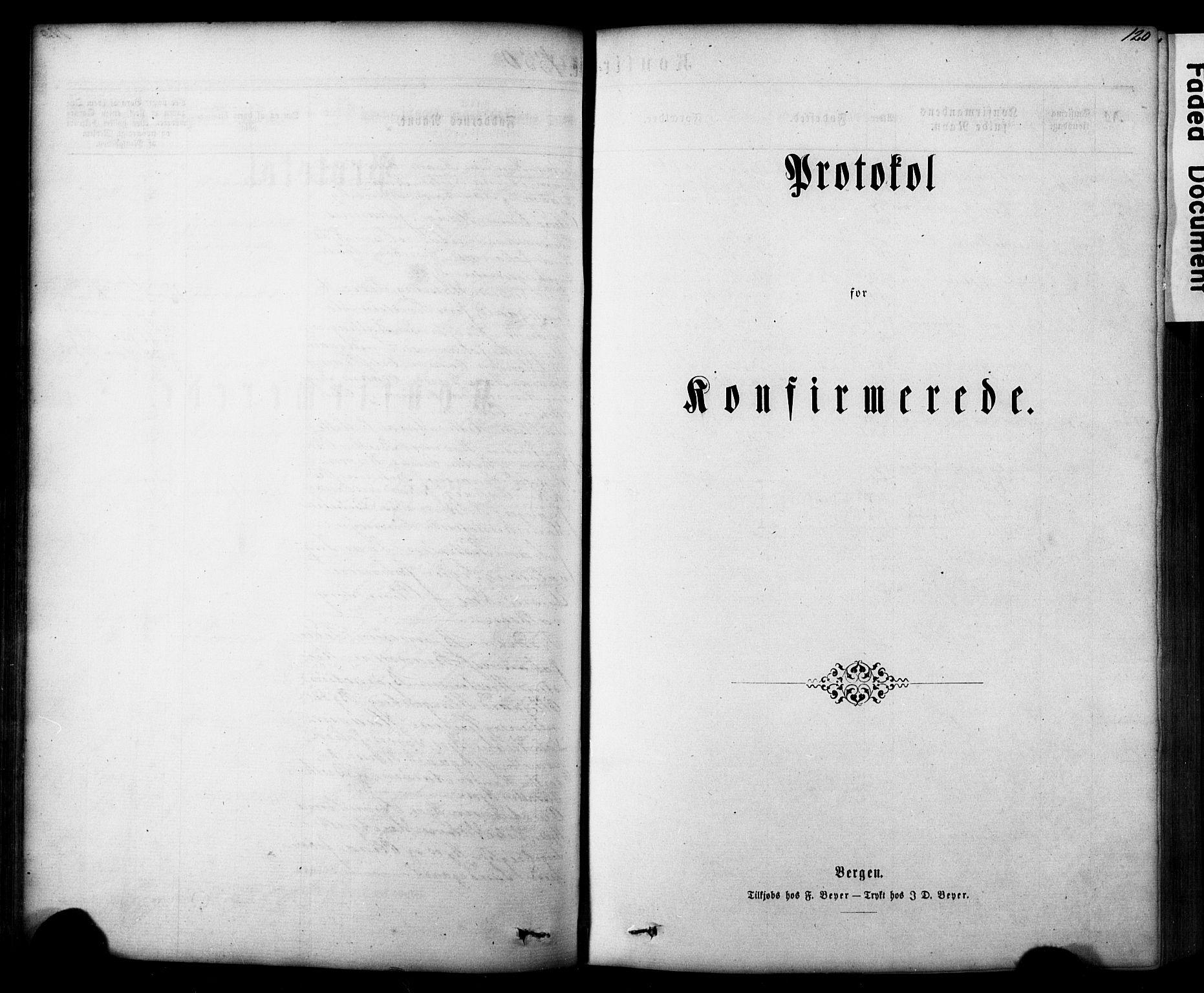 SAB, Hafslo Sokneprestembete, Klokkerbok nr. A 1, 1866-1908, s. 120
