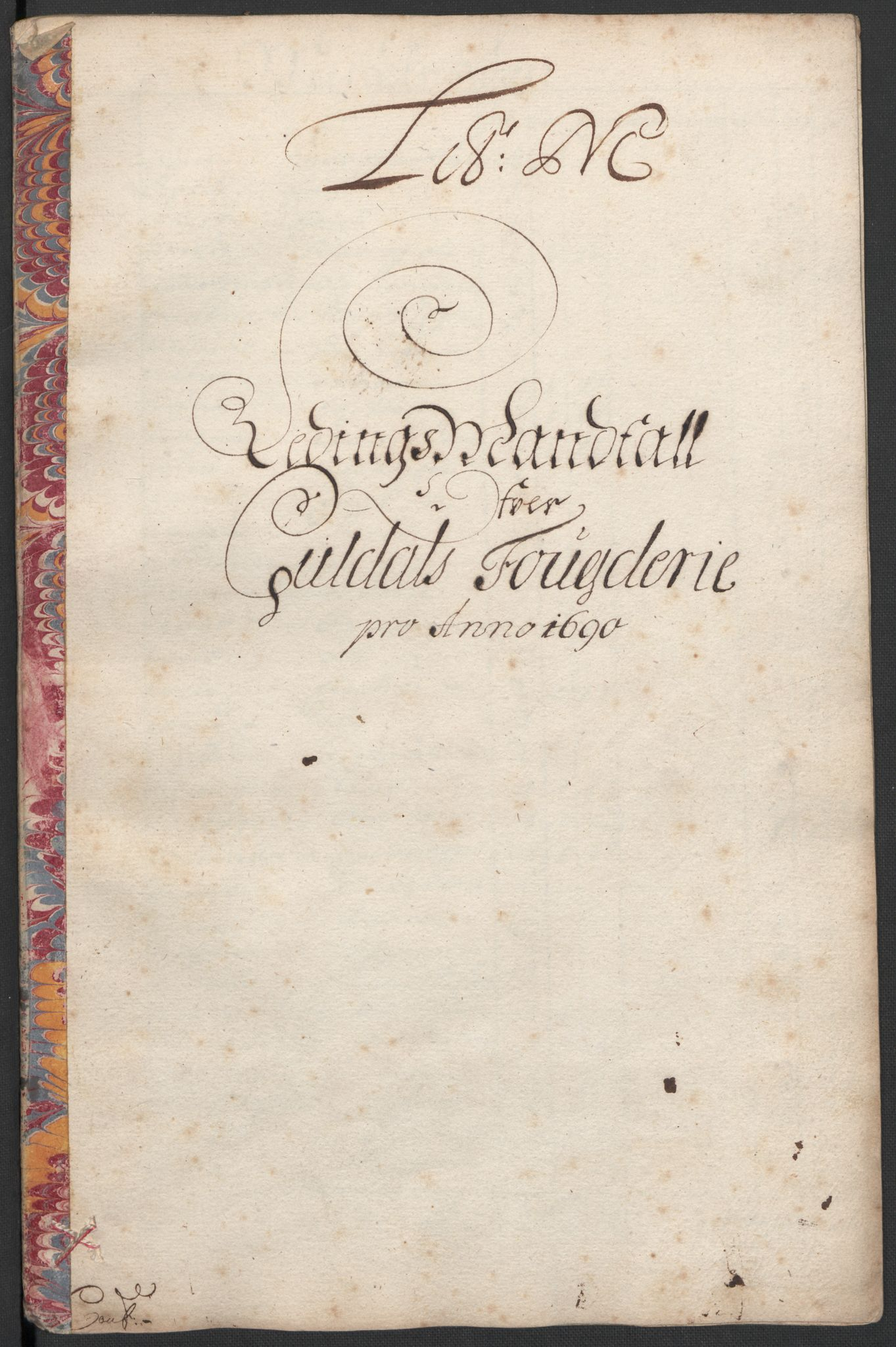 RA, Rentekammeret inntil 1814, Reviderte regnskaper, Fogderegnskap, R59/L3940: Fogderegnskap Gauldal, 1689-1690, s. 331