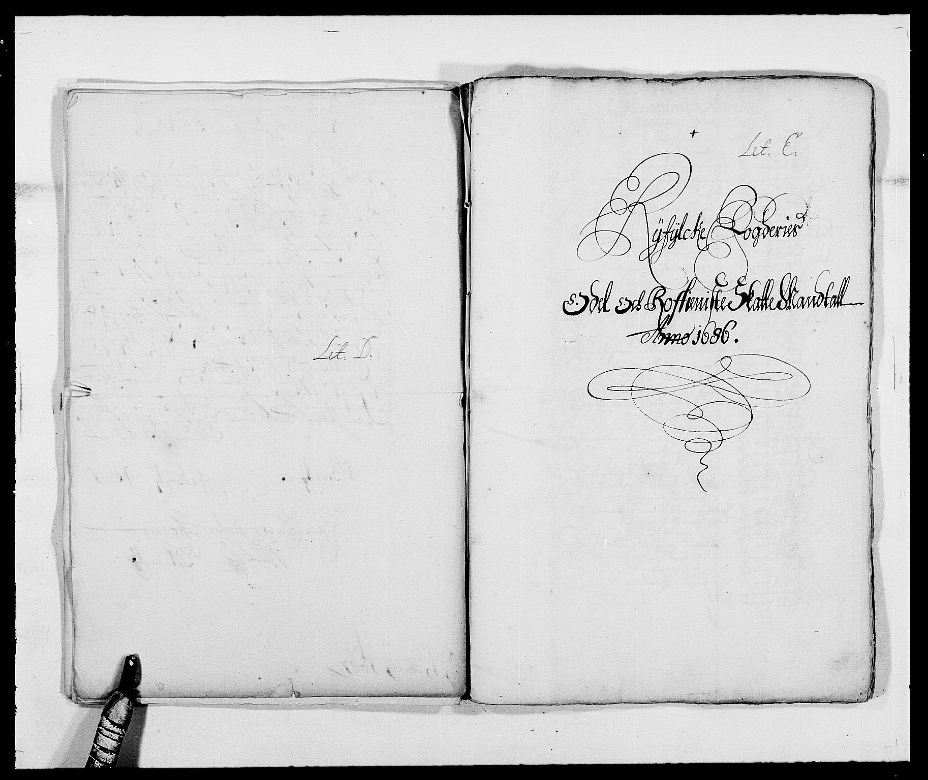 RA, Rentekammeret inntil 1814, Reviderte regnskaper, Fogderegnskap, R47/L2855: Fogderegnskap Ryfylke, 1685-1688, s. 135