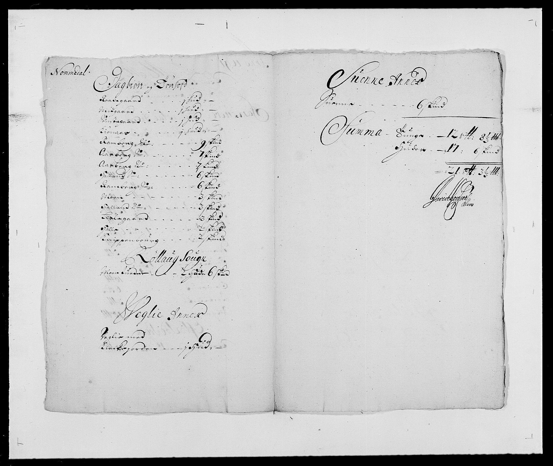 RA, Rentekammeret inntil 1814, Reviderte regnskaper, Fogderegnskap, R24/L1573: Fogderegnskap Numedal og Sandsvær, 1687-1691, s. 483