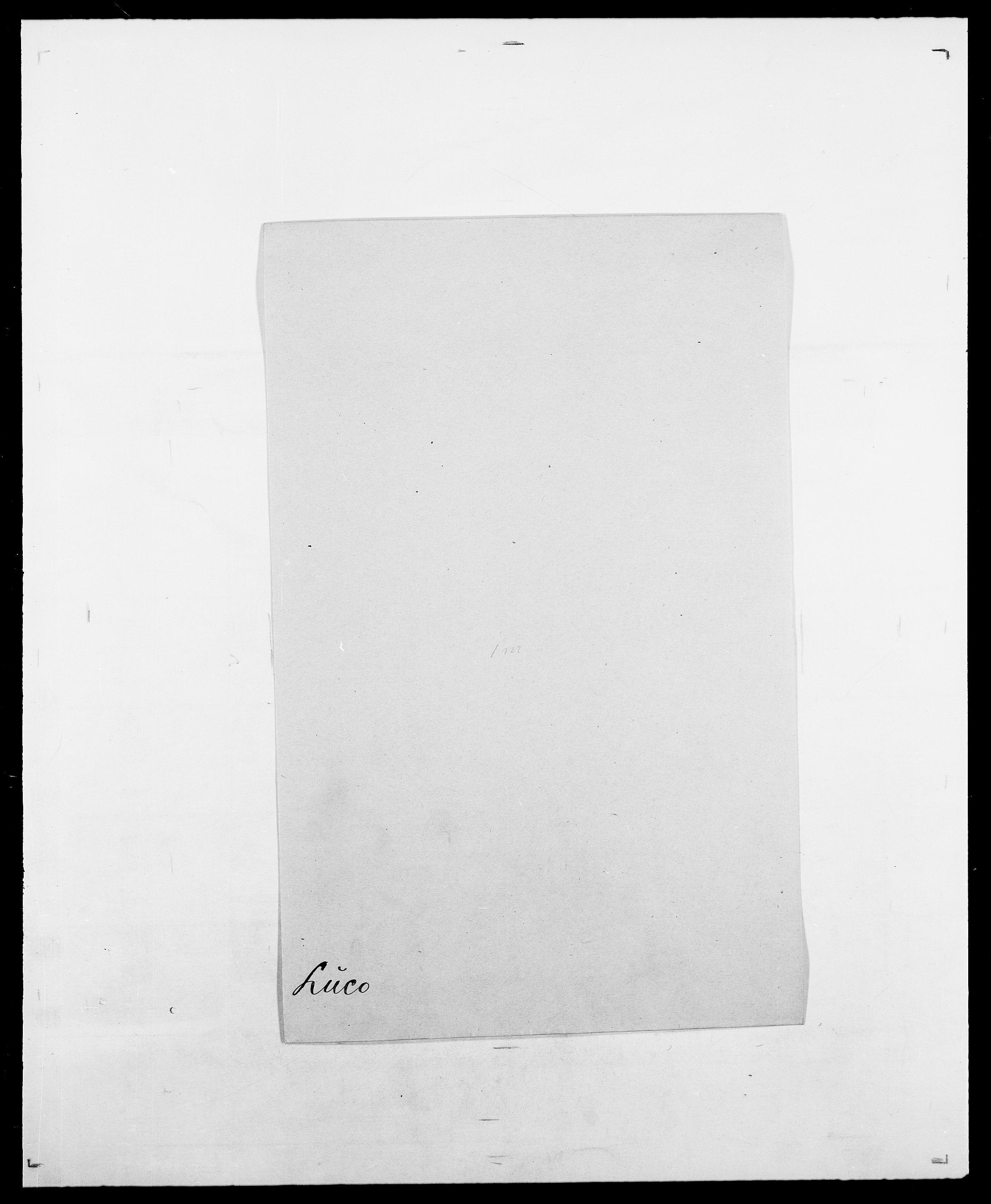 SAO, Delgobe, Charles Antoine - samling, D/Da/L0024: Lobech - Lærum, s. 361
