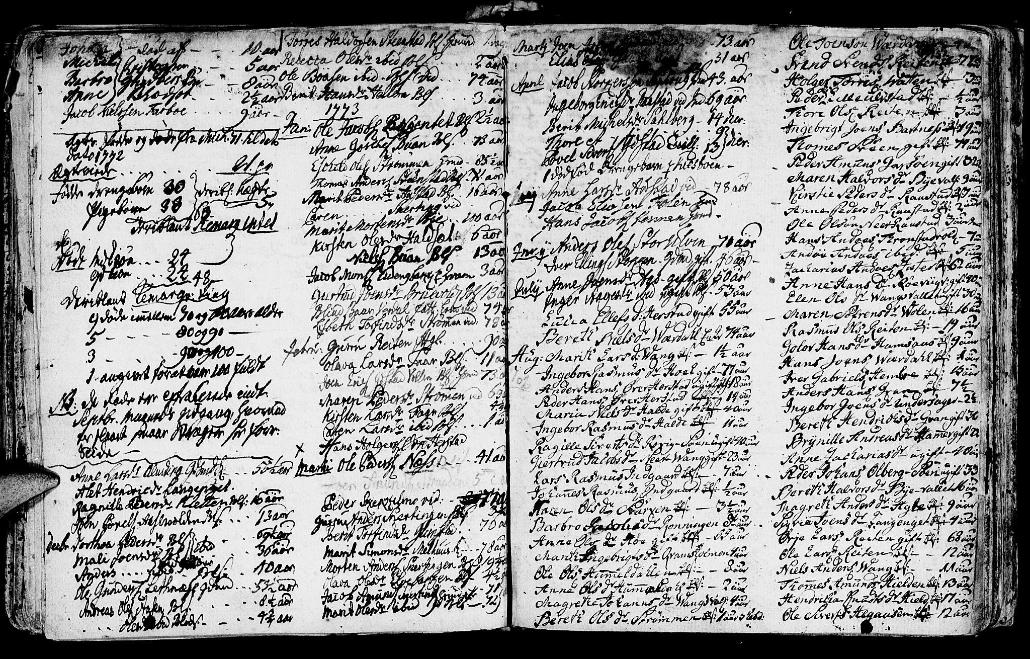 SAT, Ministerialprotokoller, klokkerbøker og fødselsregistre - Nord-Trøndelag, 730/L0273: Ministerialbok nr. 730A02, 1762-1802, s. 181