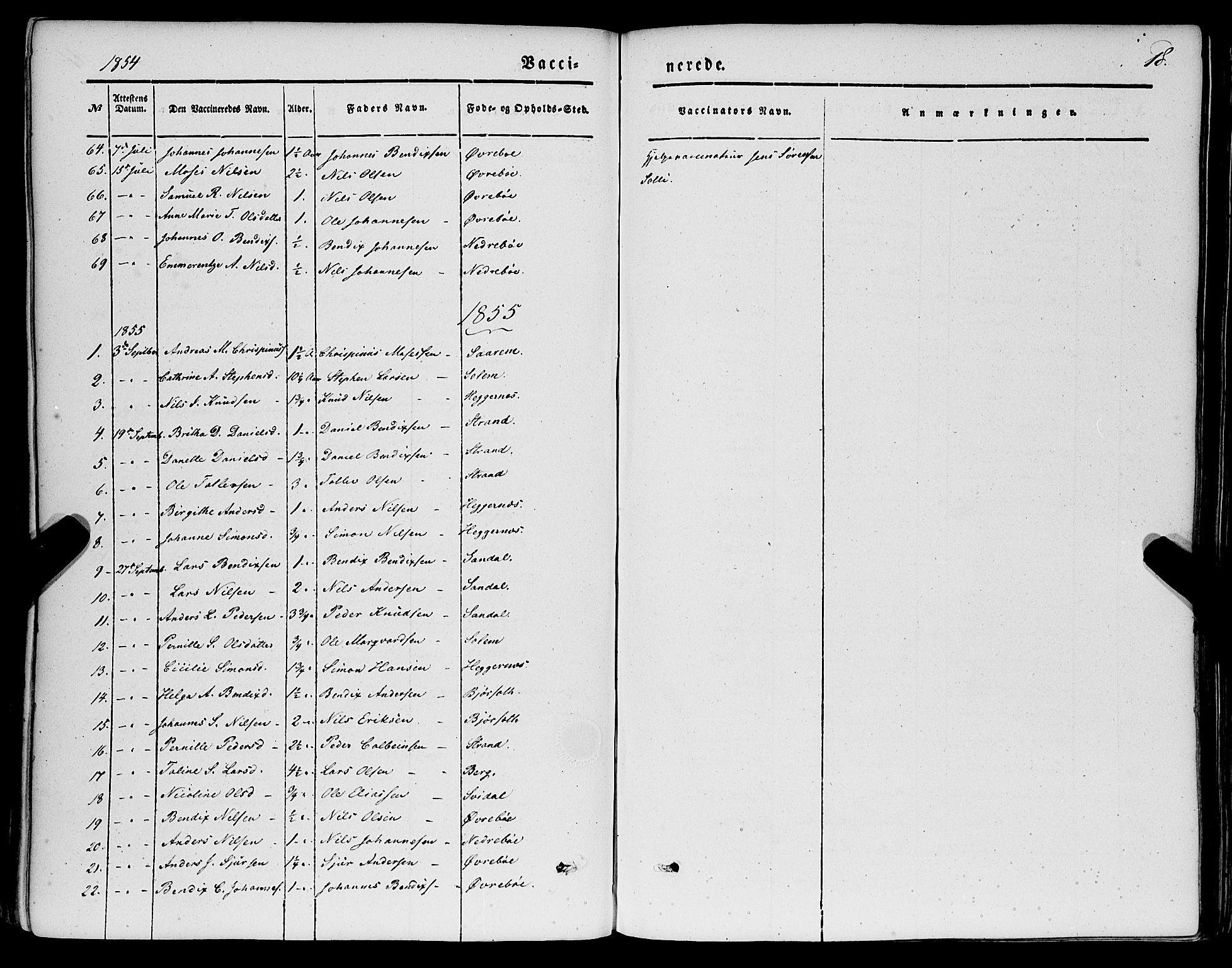 SAB, Jølster sokneprestembete, H/Haa/Haaa/L0010: Ministerialbok nr. A 10, 1847-1865, s. 18