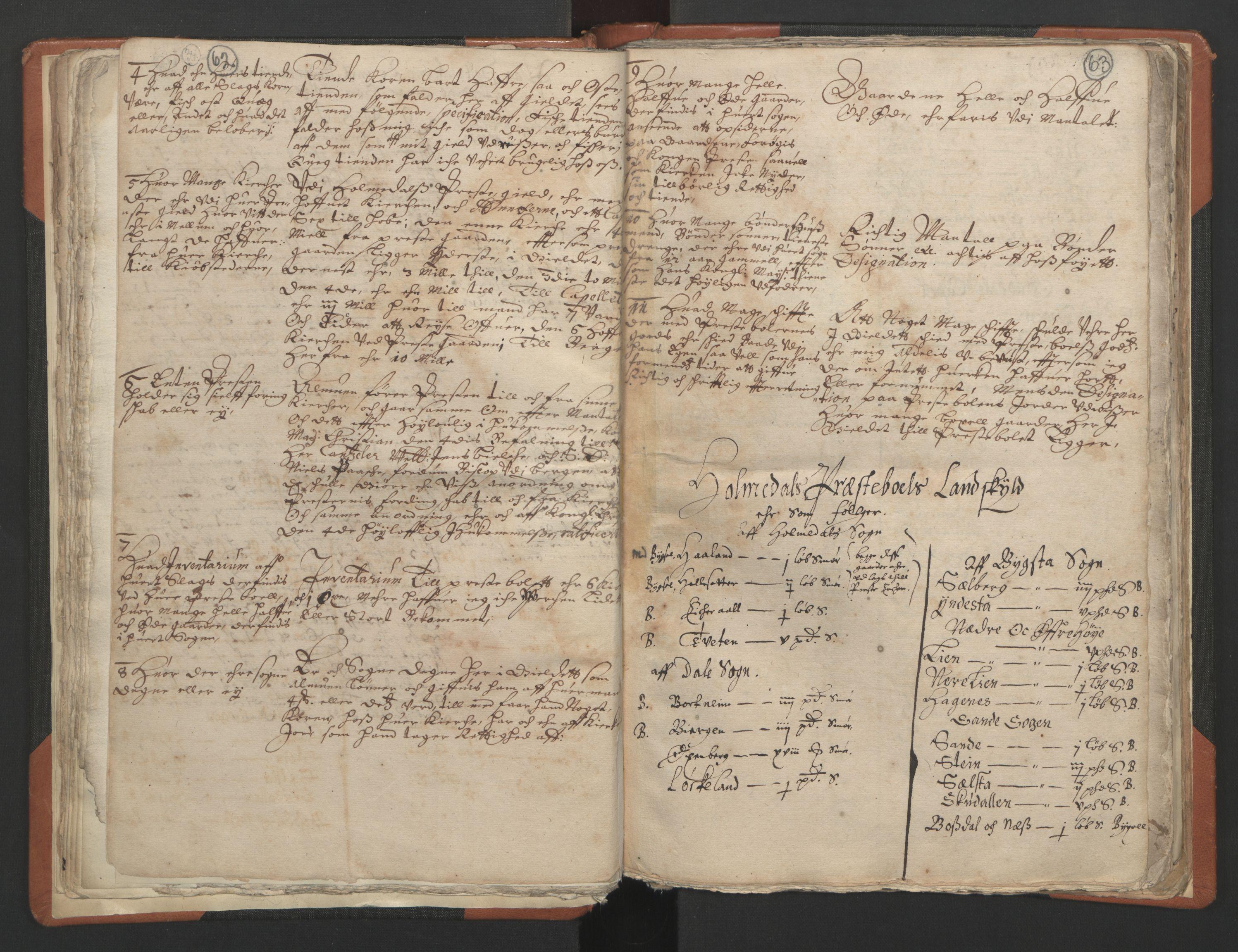 RA, Sogneprestenes manntall 1664-1666, nr. 24: Sunnfjord prosti, 1664-1666, s. 62-63