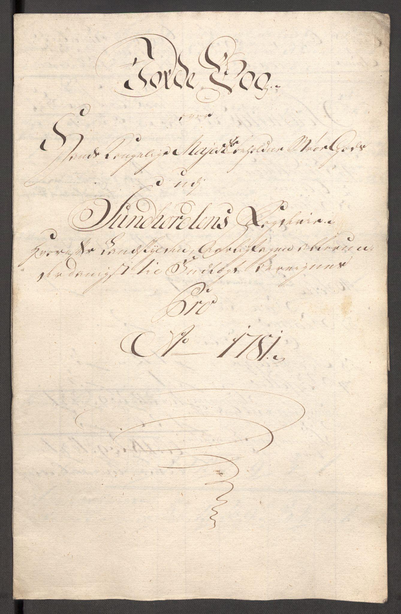 RA, Rentekammeret inntil 1814, Reviderte regnskaper, Fogderegnskap, R48/L3097: Fogderegnskap Sunnhordland og Hardanger, 1781, s. 105
