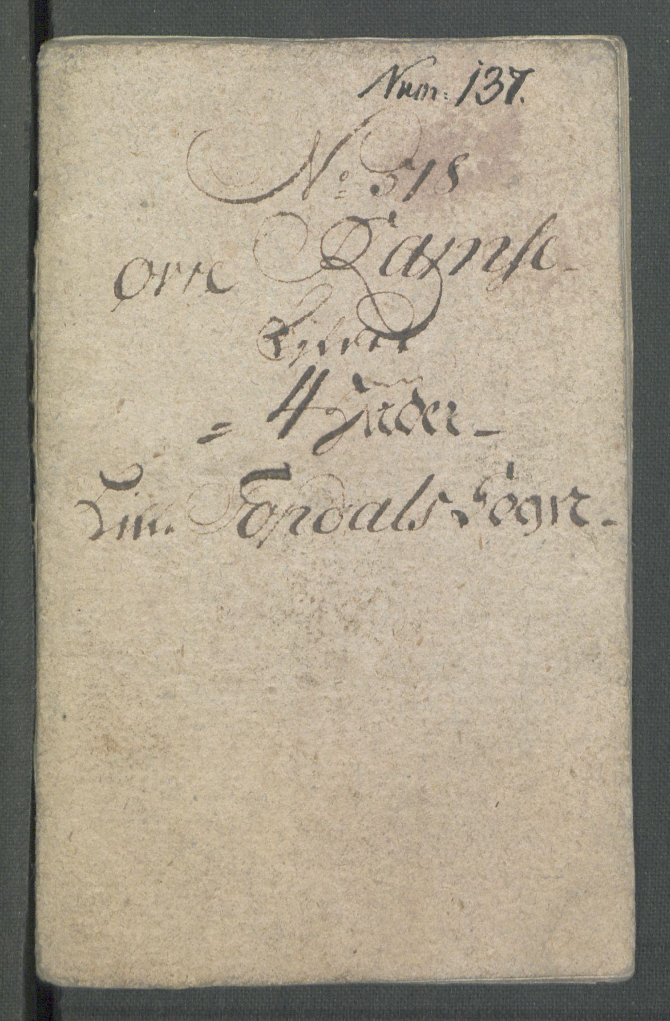 RA, Rentekammeret inntil 1814, Realistisk ordnet avdeling, Od/L0001: Oppløp, 1786-1769, s. 513