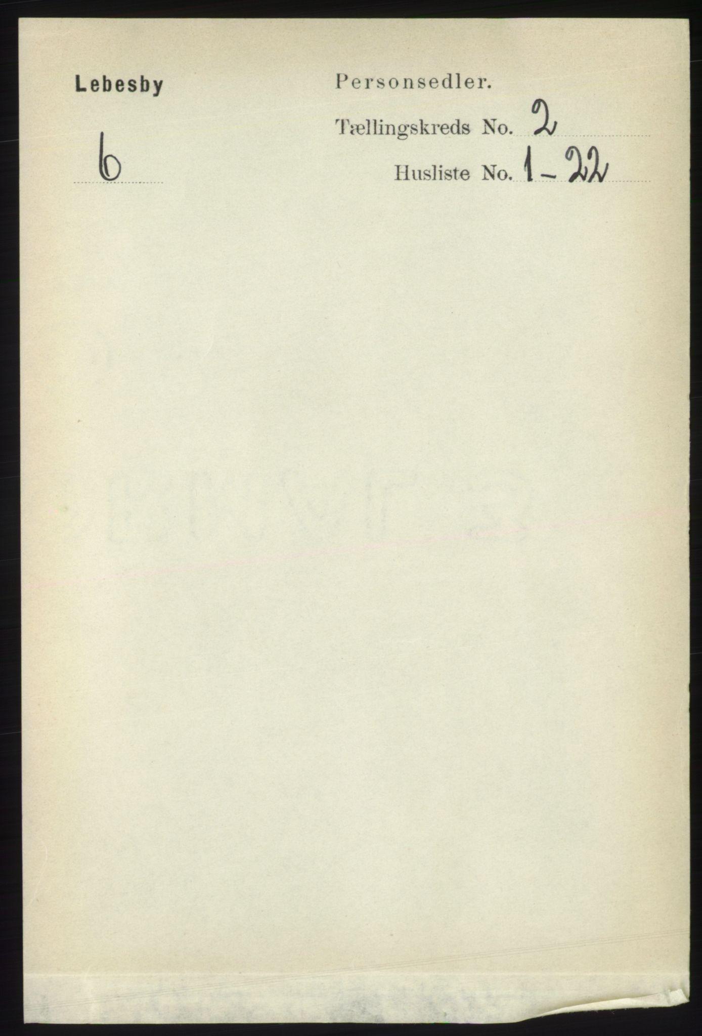 RA, Folketelling 1891 for 2022 Lebesby herred, 1891, s. 313