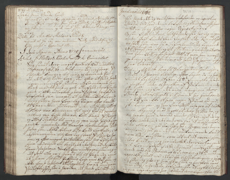 SAST, Pa 0003 - Ploug & Sundt, handelshuset, B/L0001: Kopibok, 1768-1770, s. 61