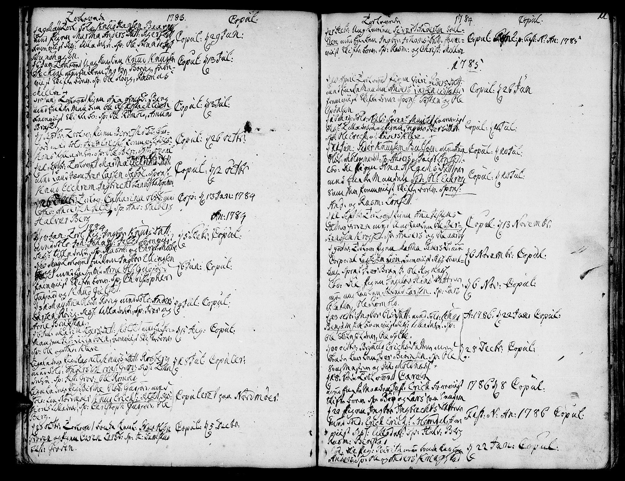 SAT, Ministerialprotokoller, klokkerbøker og fødselsregistre - Møre og Romsdal, 555/L0648: Ministerialbok nr. 555A01, 1759-1793, s. 11