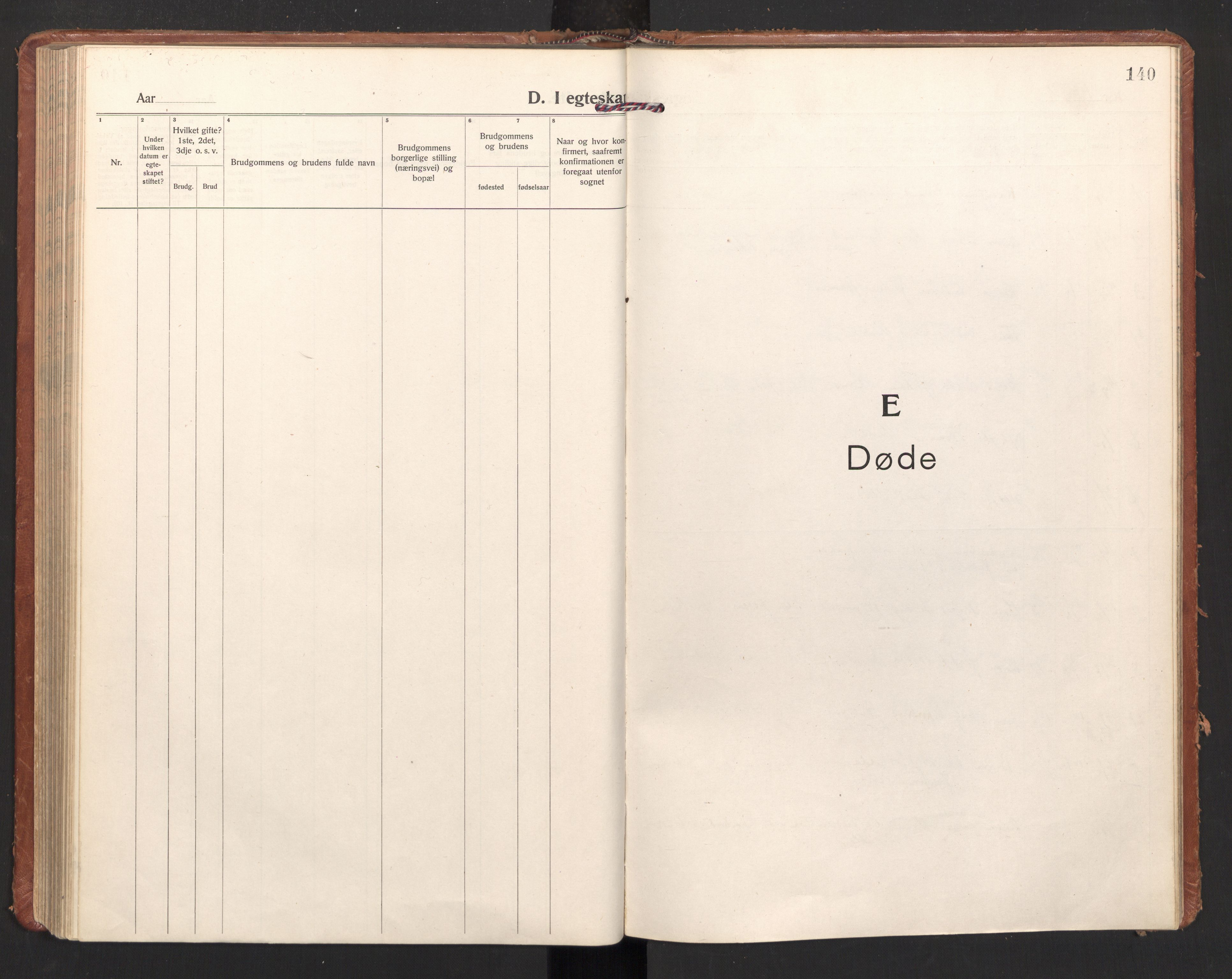 SAT, Ministerialprotokoller, klokkerbøker og fødselsregistre - Nordland, 897/L1408: Ministerialbok nr. 897A15, 1922-1938, s. 140