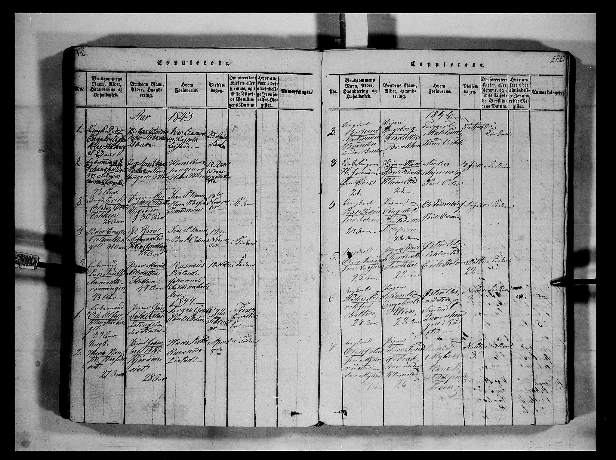 SAH, Fron prestekontor, H/Ha/Hab/L0002: Klokkerbok nr. 2, 1816-1850, s. 202