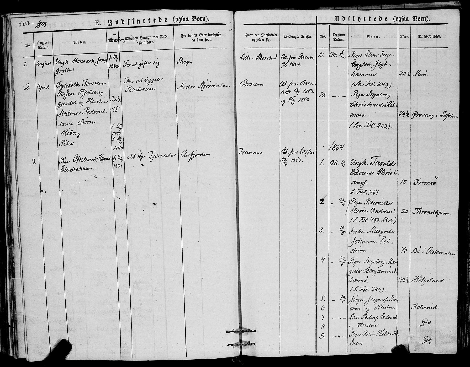 SAT, Ministerialprotokoller, klokkerbøker og fødselsregistre - Nord-Trøndelag, 773/L0614: Ministerialbok nr. 773A05, 1831-1856, s. 502