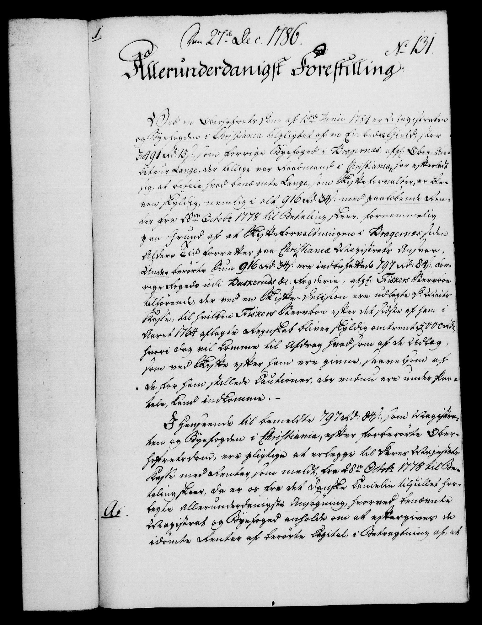 RA, Rentekammeret, Kammerkanselliet, G/Gf/Gfa/L0068: Norsk relasjons- og resolusjonsprotokoll (merket RK 52.68), 1786, s. 1050