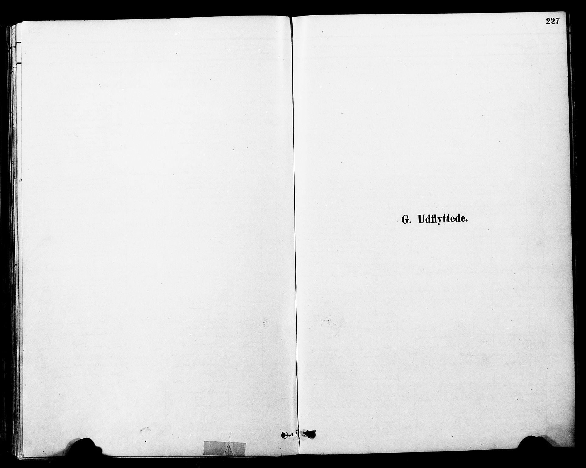 SAT, Ministerialprotokoller, klokkerbøker og fødselsregistre - Nord-Trøndelag, 757/L0505: Ministerialbok nr. 757A01, 1882-1904, s. 227