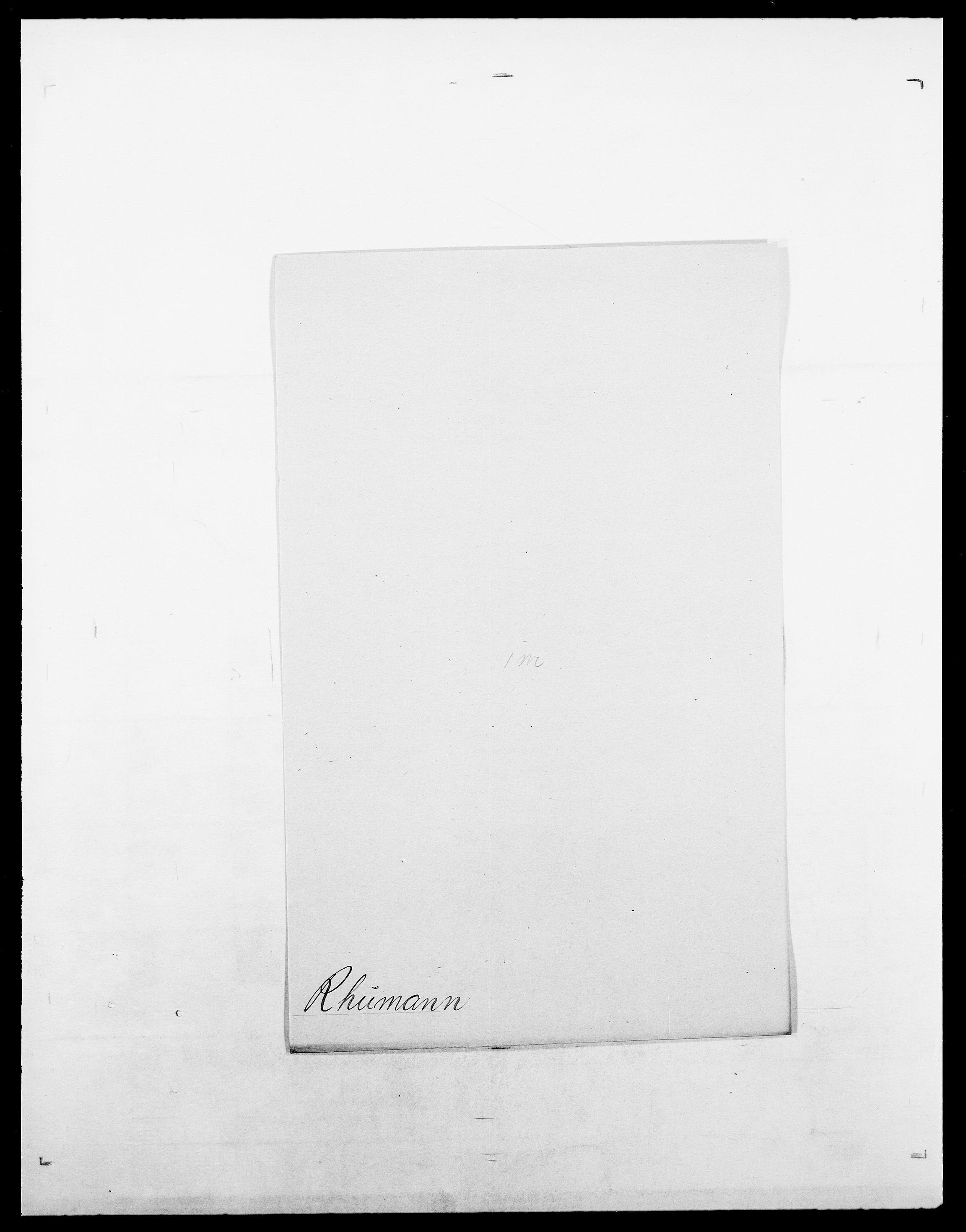 SAO, Delgobe, Charles Antoine - samling, D/Da/L0032: Rabakovsky - Rivertz, s. 509