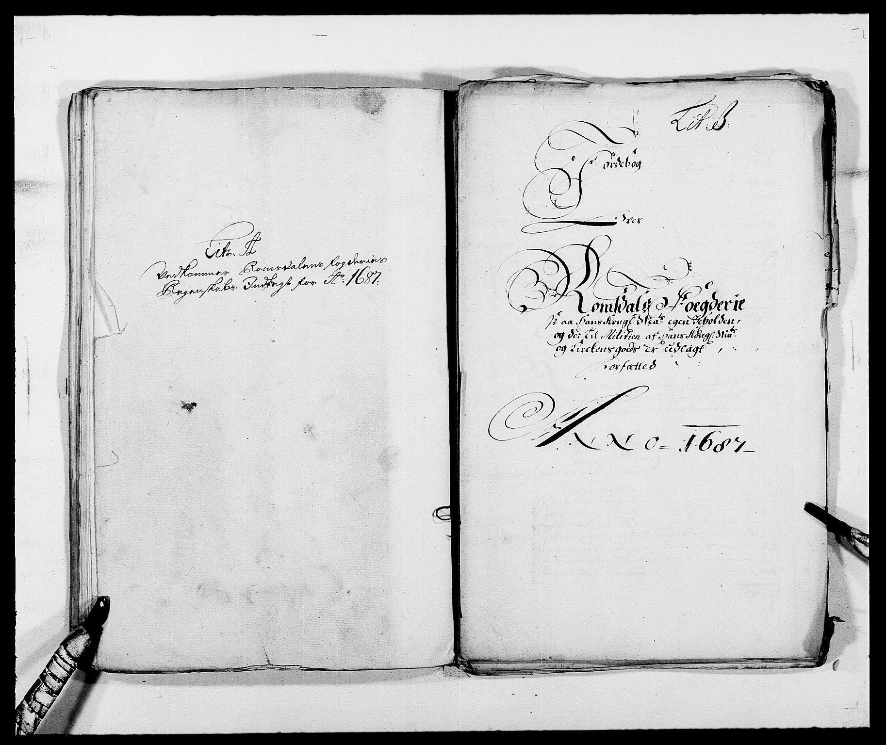 RA, Rentekammeret inntil 1814, Reviderte regnskaper, Fogderegnskap, R55/L3648: Fogderegnskap Romsdal, 1687-1689, s. 58