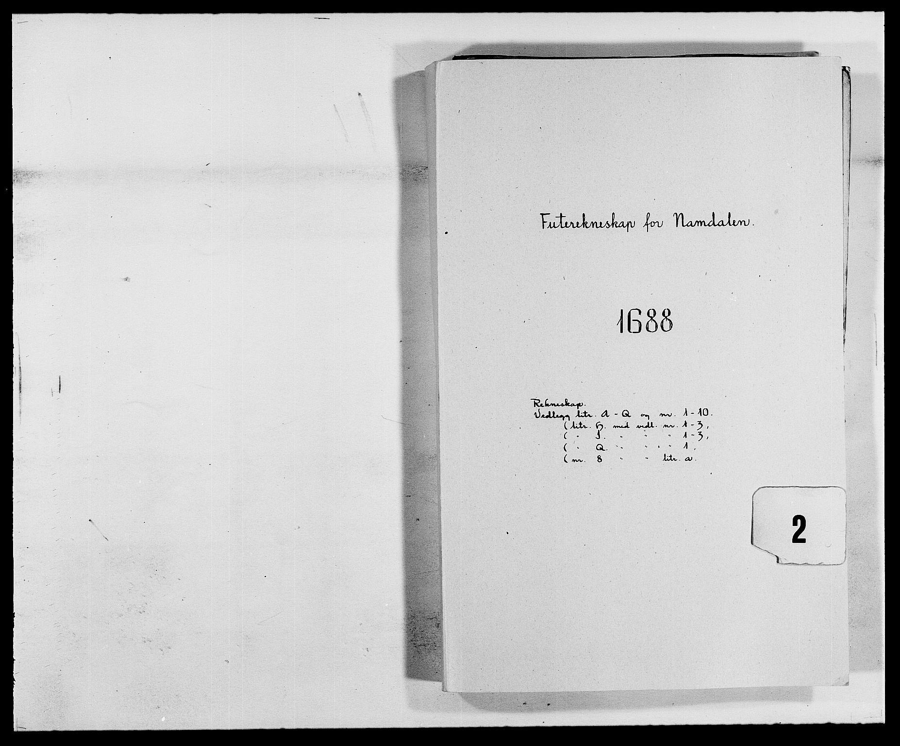 RA, Rentekammeret inntil 1814, Reviderte regnskaper, Fogderegnskap, R64/L4422: Fogderegnskap Namdal, 1687-1689, s. 91
