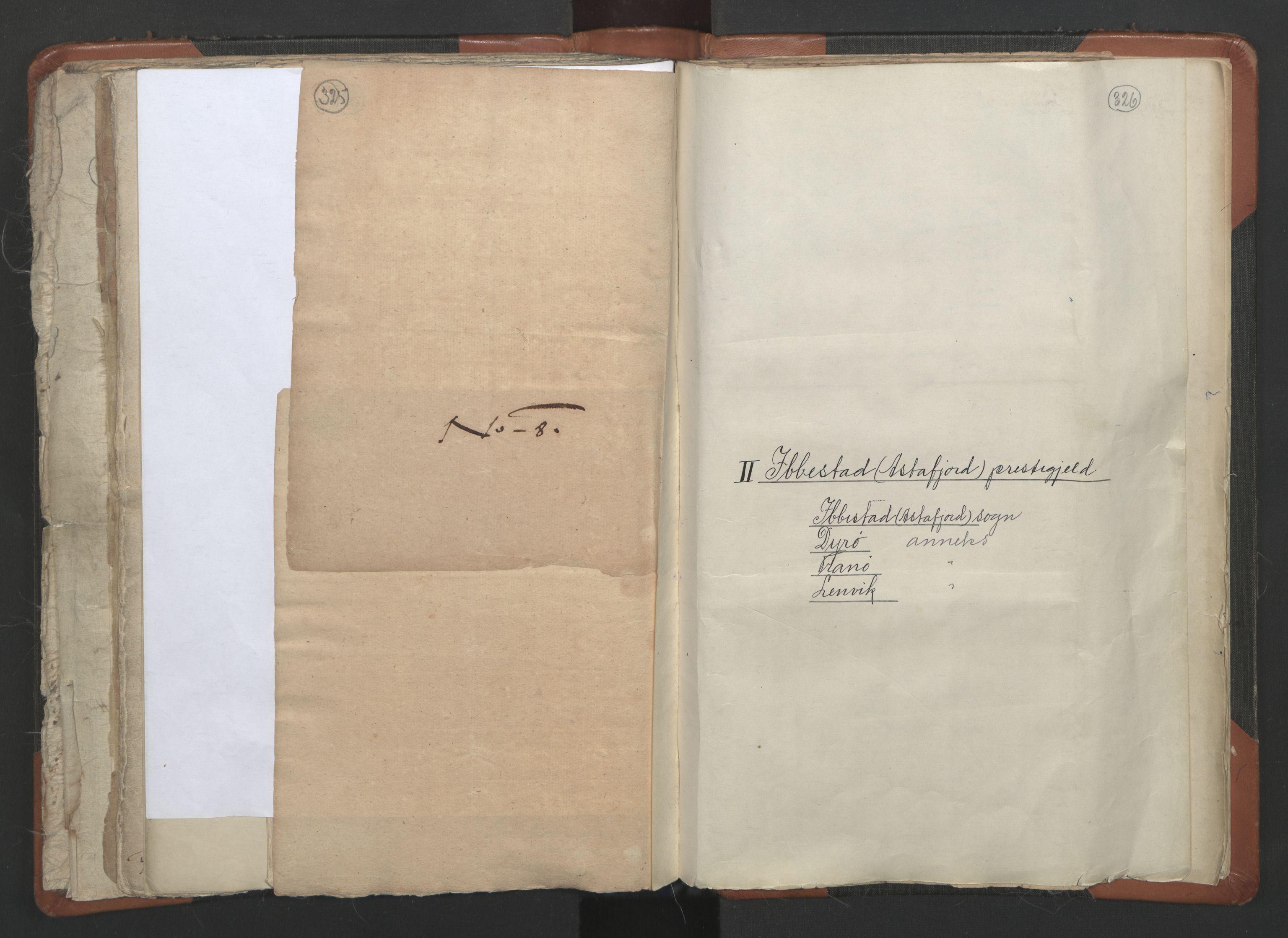 RA, Sogneprestenes manntall 1664-1666, nr. 36: Lofoten og Vesterålen prosti, Senja prosti og Troms prosti, 1664-1666, s. 325-326