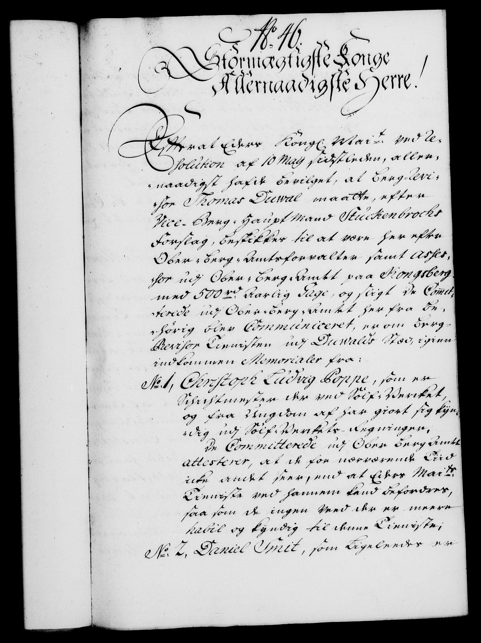 RA, Rentekammeret, Kammerkanselliet, G/Gf/Gfa/L0021: Norsk relasjons- og resolusjonsprotokoll (merket RK 52.21), 1738, s. 270