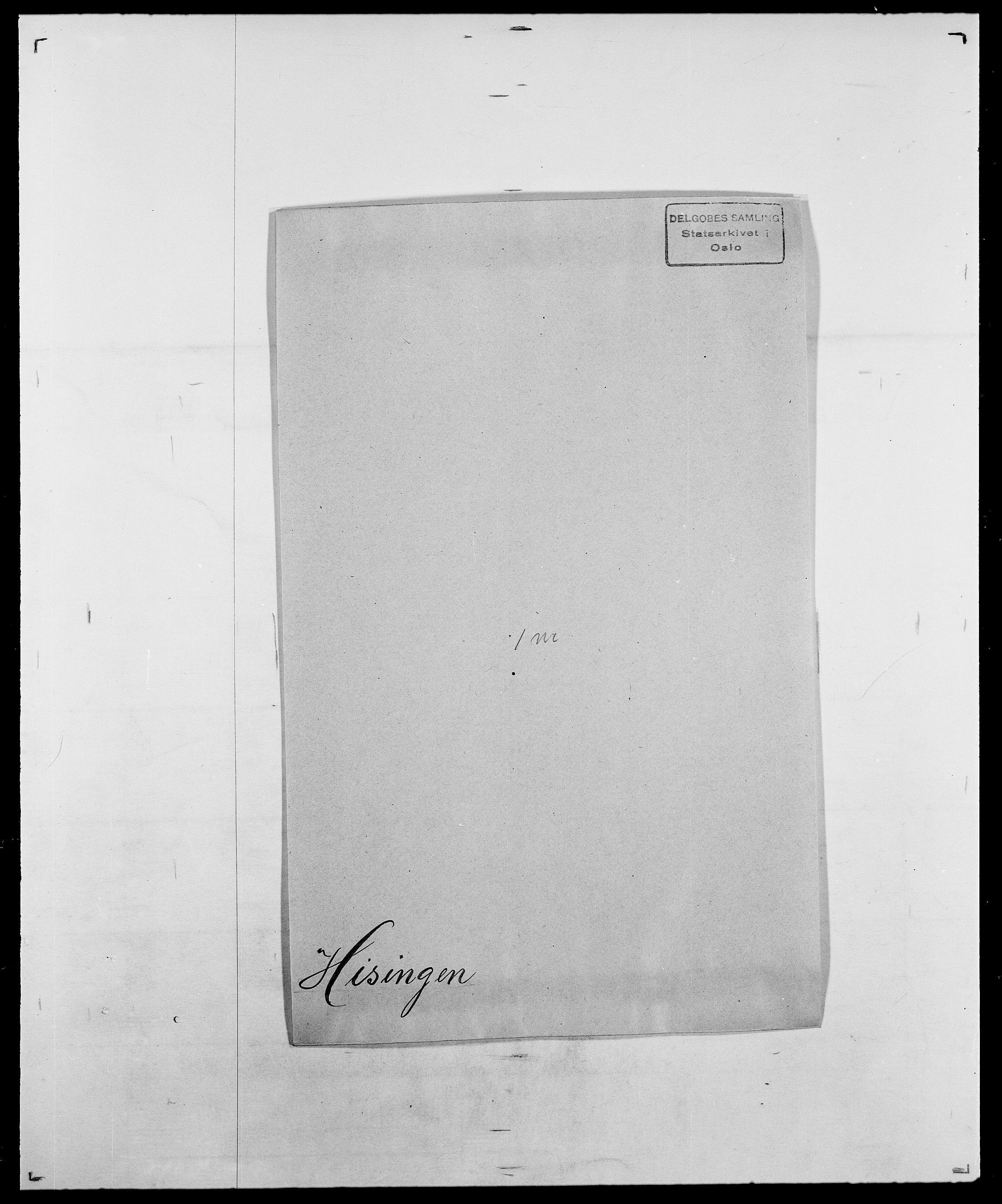 SAO, Delgobe, Charles Antoine - samling, D/Da/L0017: Helander - Hjørne, s. 530
