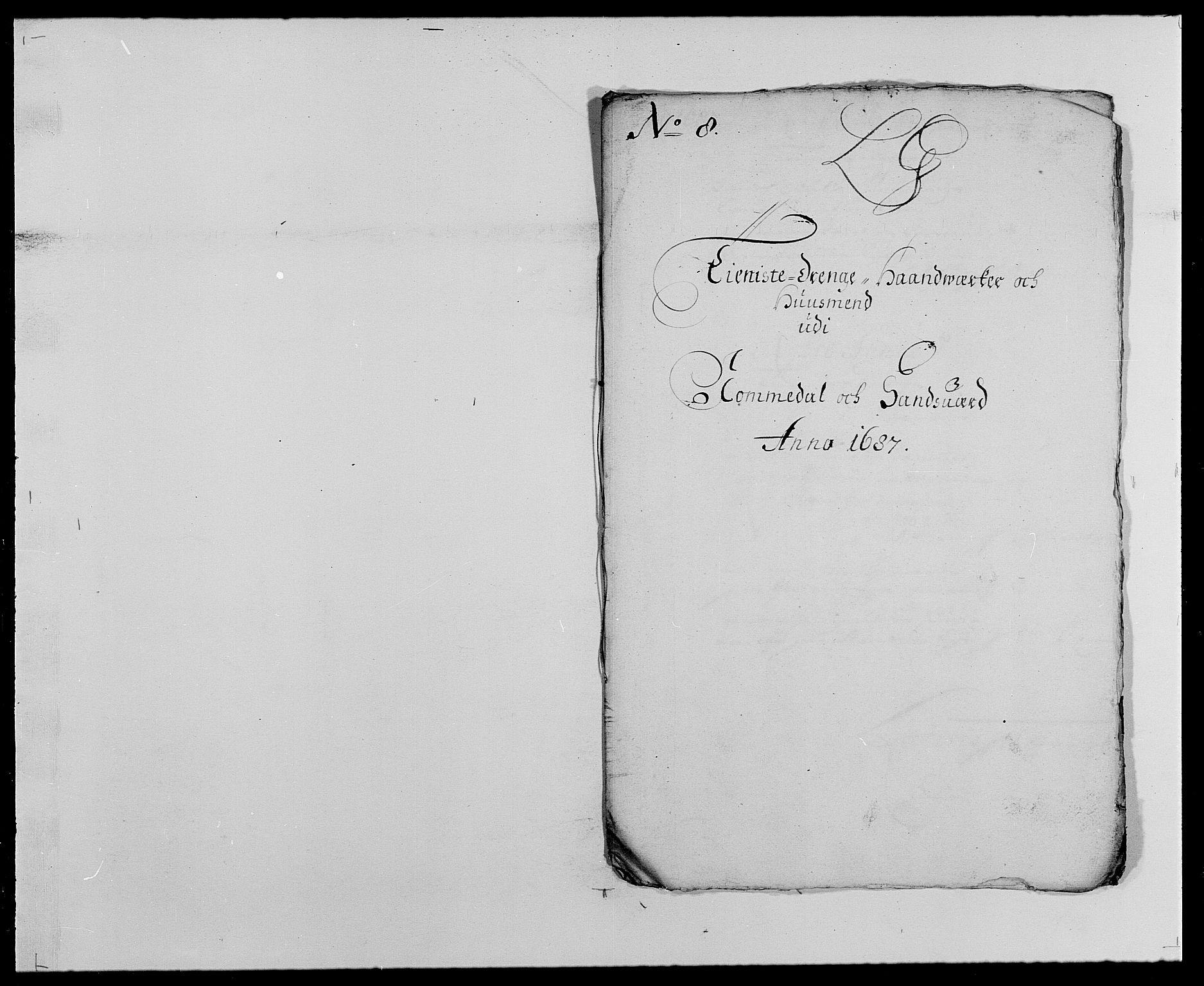 RA, Rentekammeret inntil 1814, Reviderte regnskaper, Fogderegnskap, R24/L1573: Fogderegnskap Numedal og Sandsvær, 1687-1691, s. 172