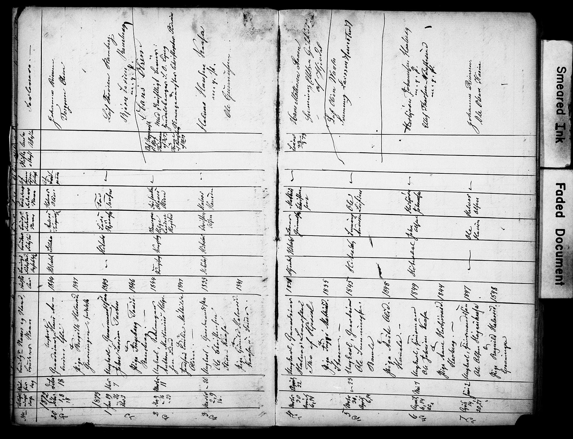 SAKO, Heddal kirkebøker, H/Ha/L0001: Lysningsprotokoll nr. 1, 1865-1918