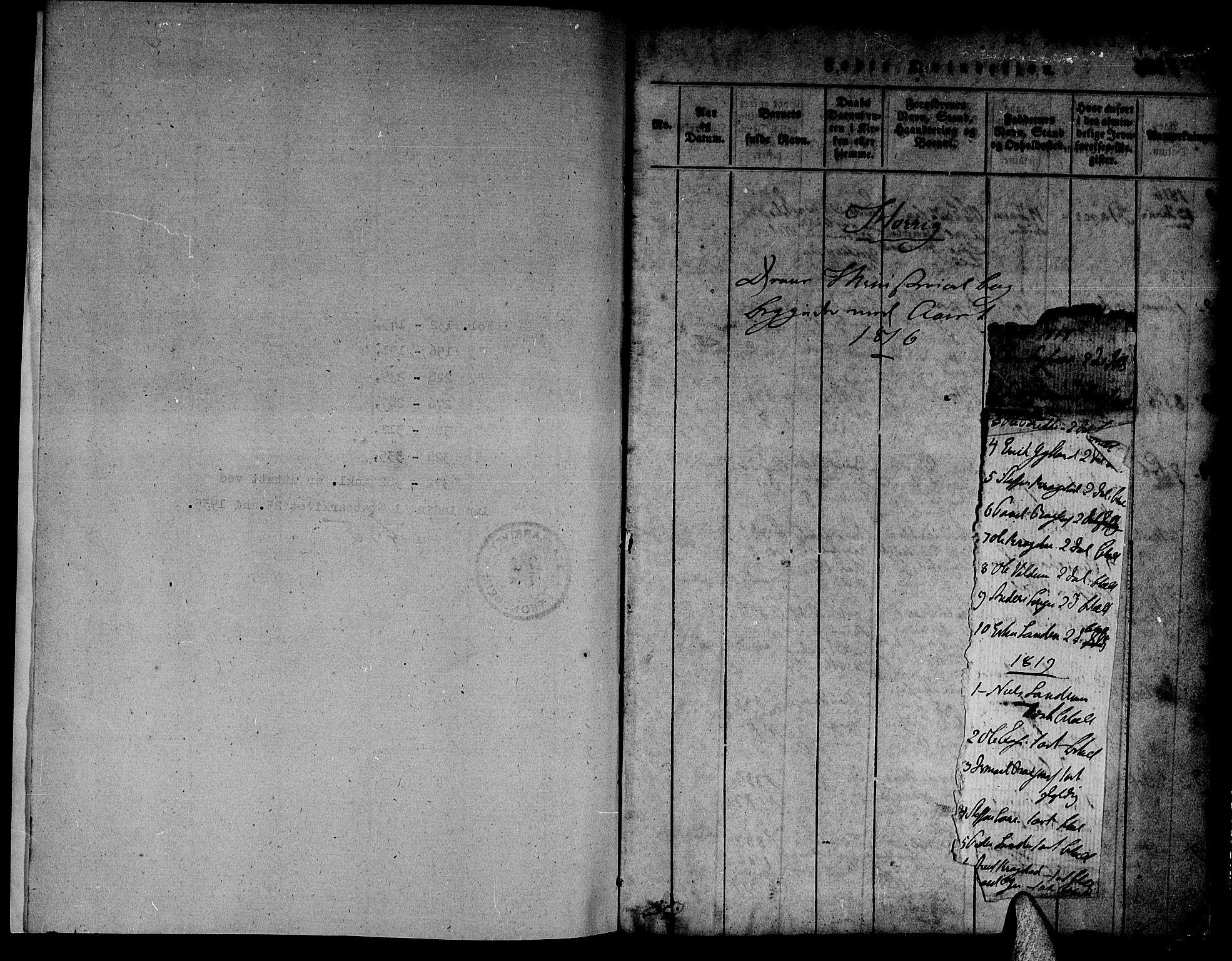SAT, Ministerialprotokoller, klokkerbøker og fødselsregistre - Sør-Trøndelag, 692/L1102: Ministerialbok nr. 692A02, 1816-1842, s. 1