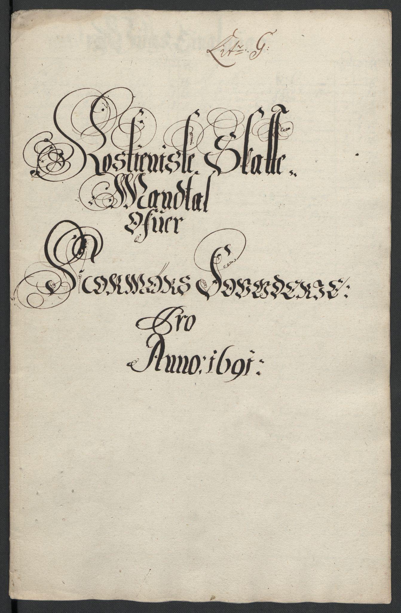 RA, Rentekammeret inntil 1814, Reviderte regnskaper, Fogderegnskap, R56/L3734: Fogderegnskap Nordmøre, 1690-1691, s. 354