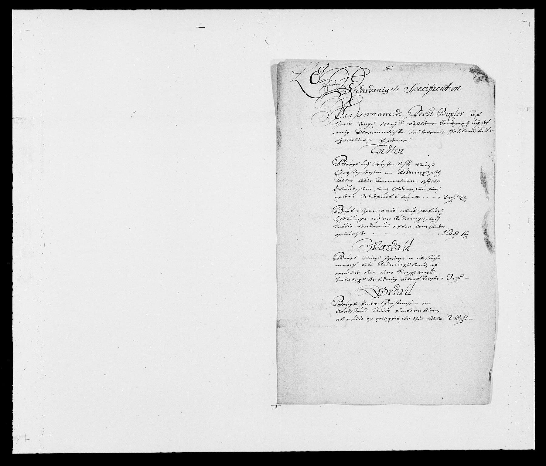 RA, Rentekammeret inntil 1814, Reviderte regnskaper, Fogderegnskap, R18/L1284: Fogderegnskap Hadeland, Toten og Valdres, 1685, s. 138
