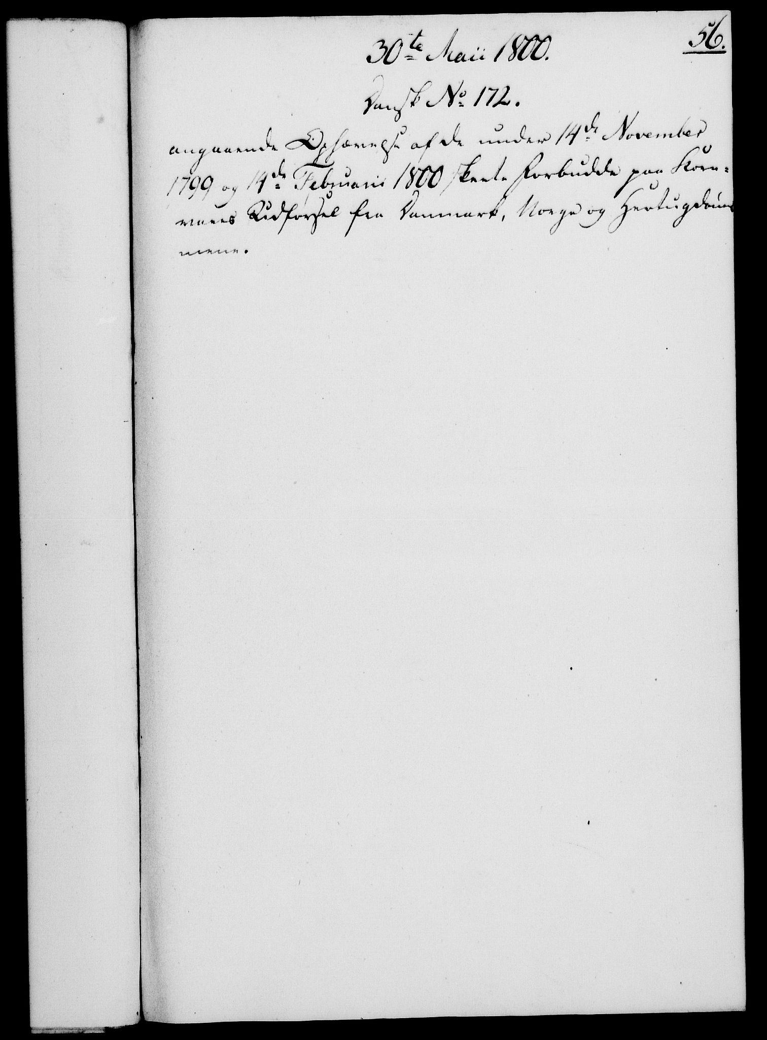 RA, Rentekammeret, Kammerkanselliet, G/Gf/Gfa/L0082: Norsk relasjons- og resolusjonsprotokoll (merket RK 52.82), 1800, s. 348