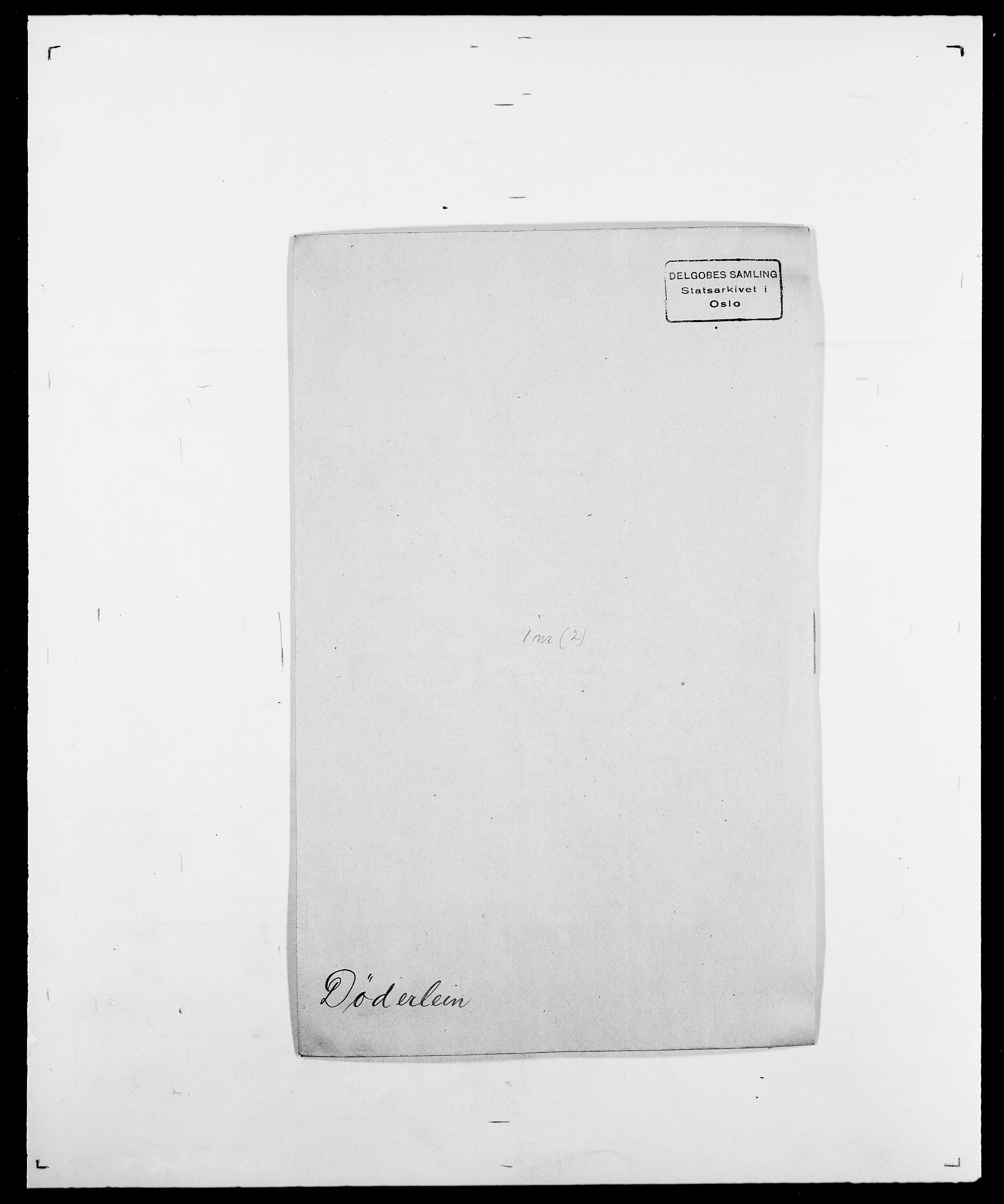 SAO, Delgobe, Charles Antoine - samling, D/Da/L0010: Dürendahl - Fagelund, s. 41