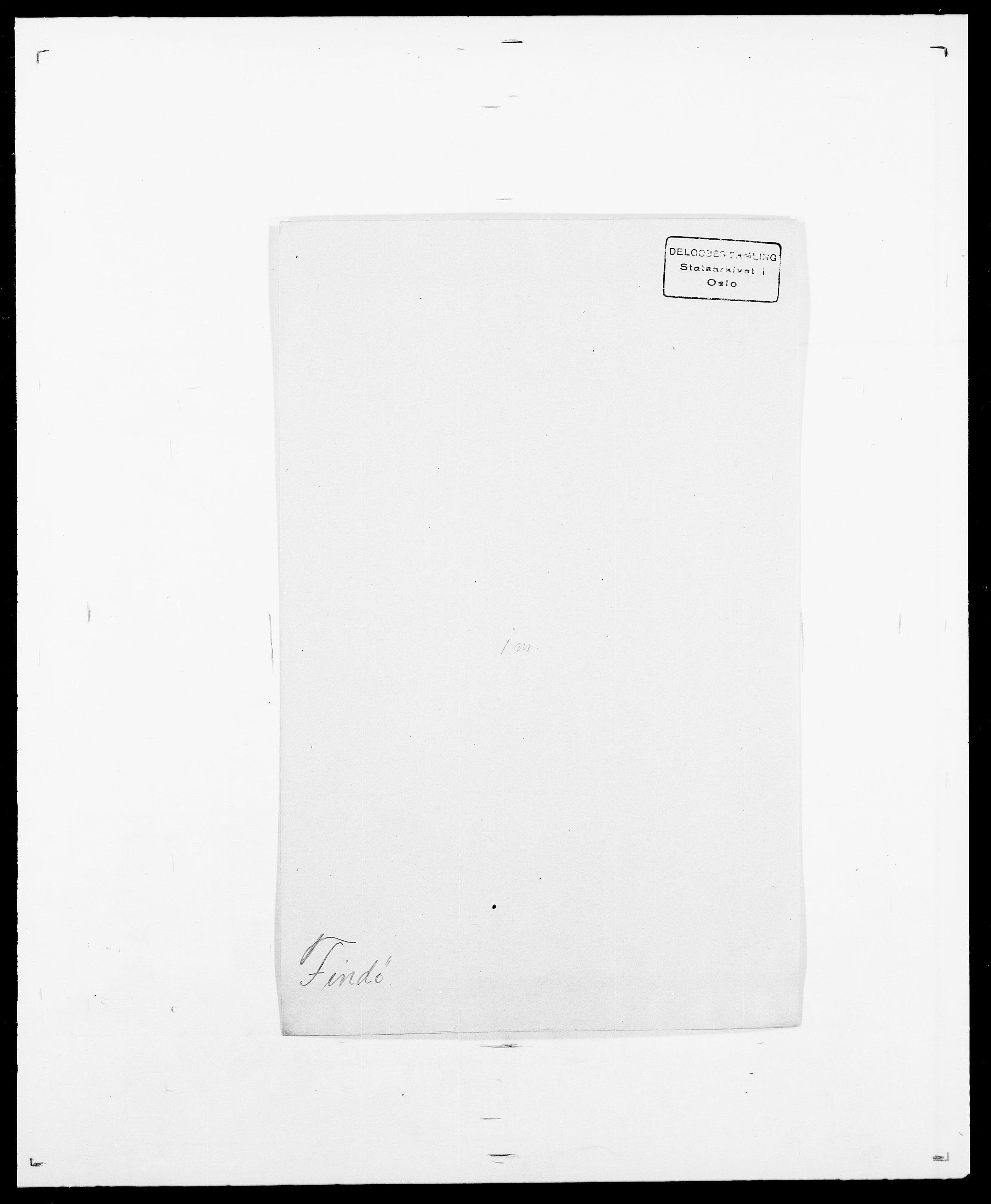 SAO, Delgobe, Charles Antoine - samling, D/Da/L0011: Fahlander - Flood, Flod, s. 470