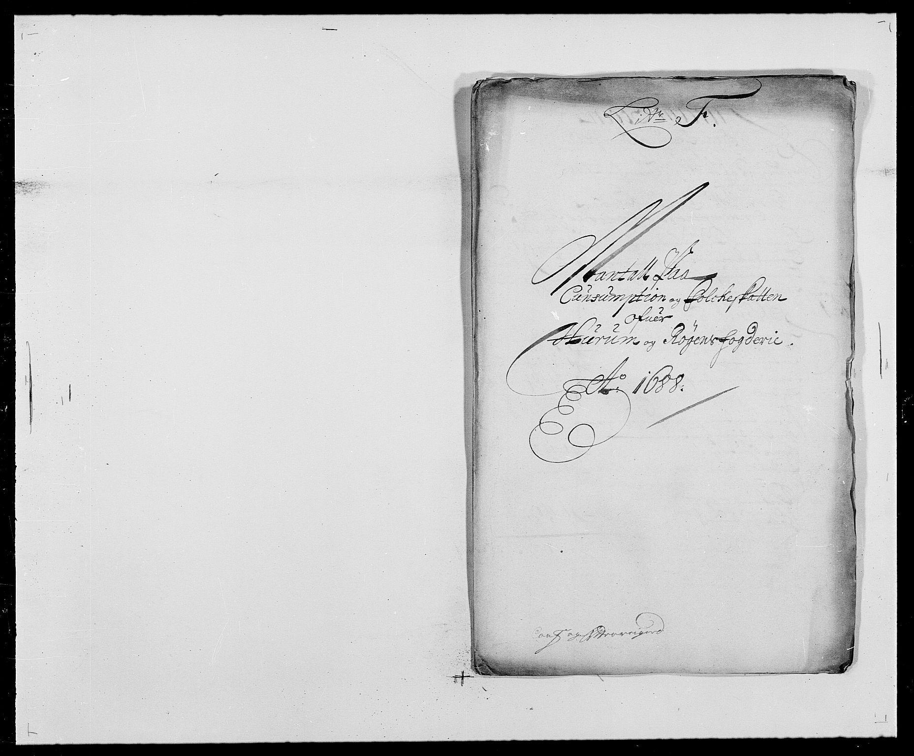 RA, Rentekammeret inntil 1814, Reviderte regnskaper, Fogderegnskap, R29/L1693: Fogderegnskap Hurum og Røyken, 1688-1693, s. 67