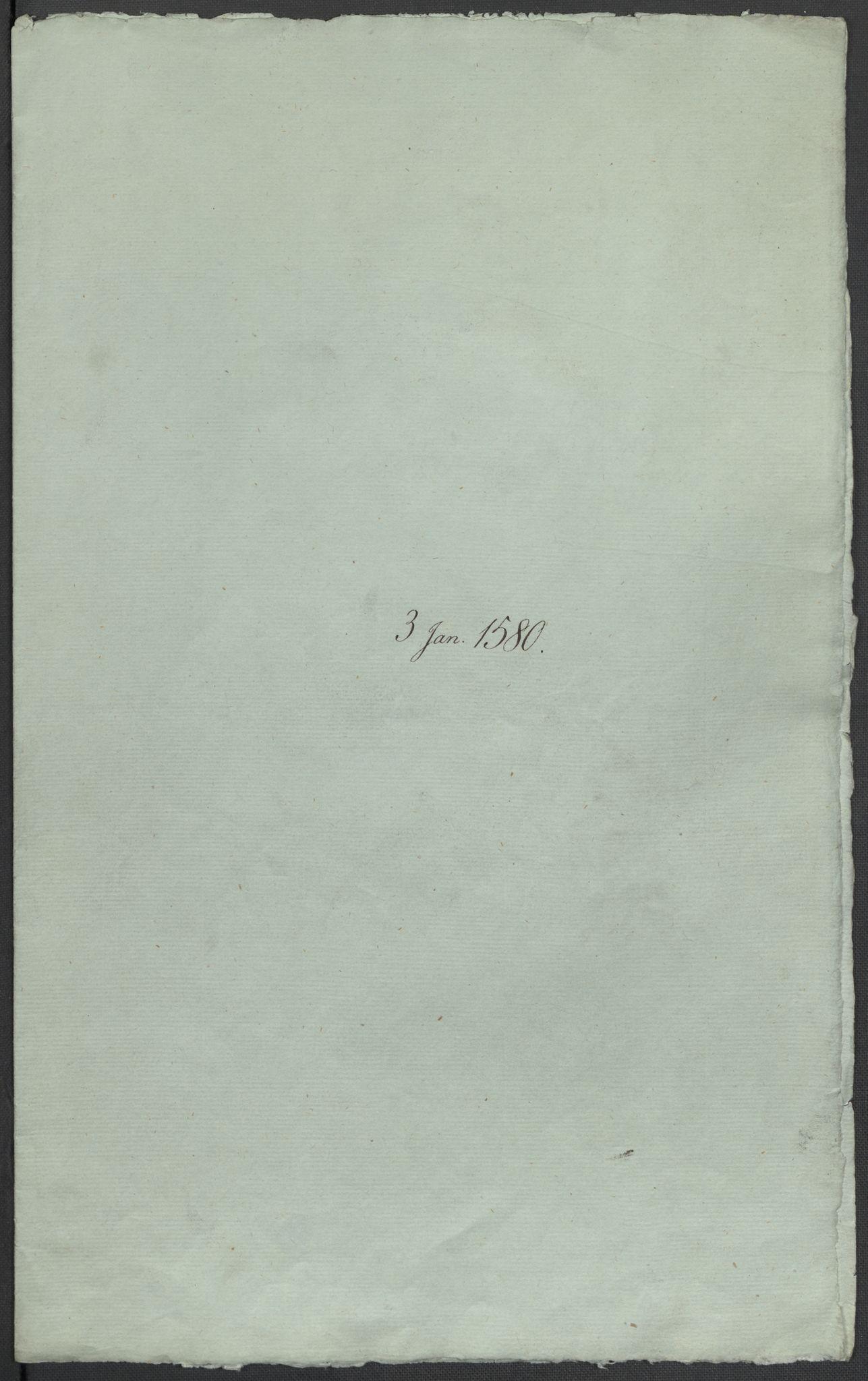 RA, Riksarkivets diplomsamling, F02/L0082: Dokumenter, 1580, s. 2