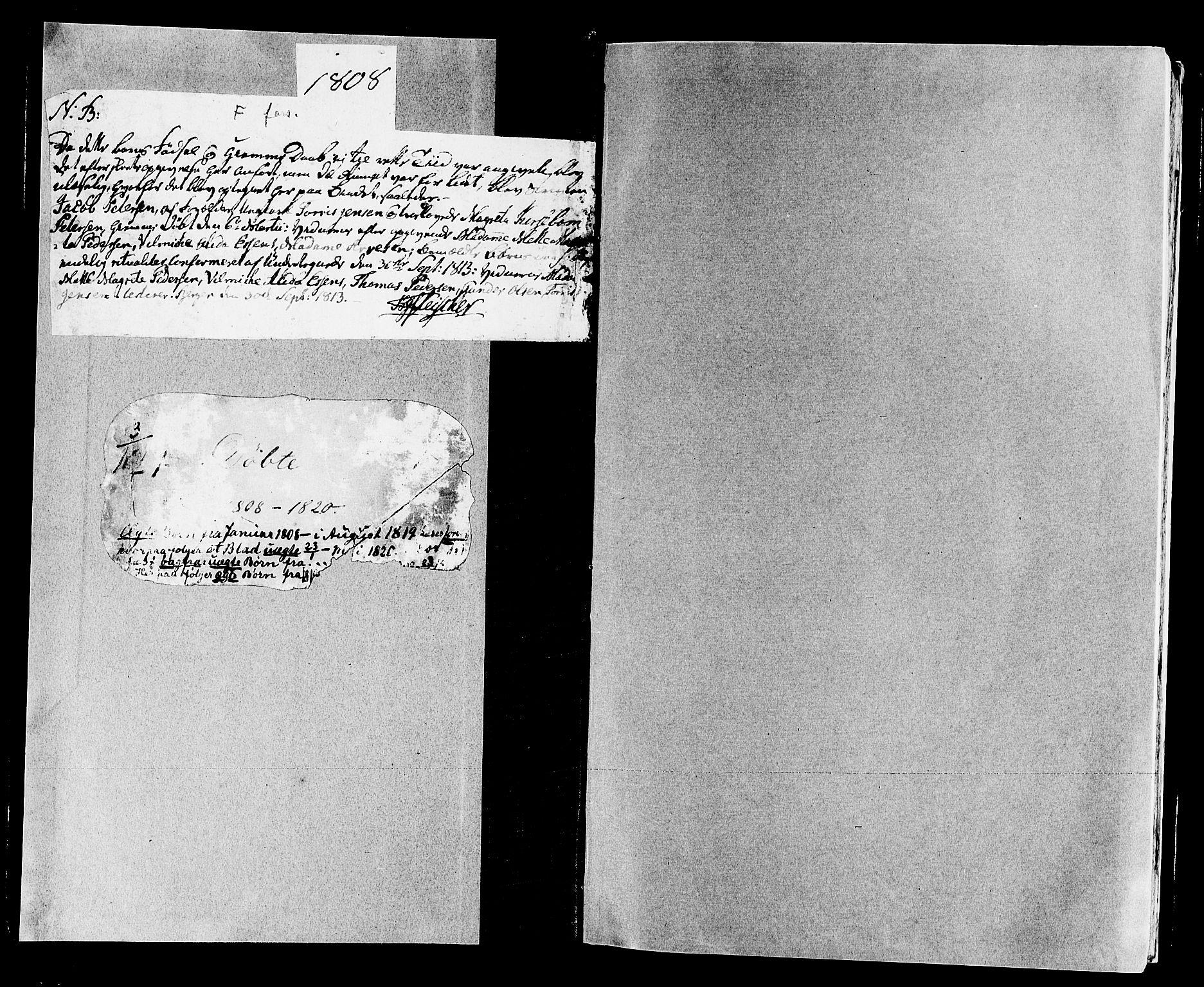 SAB, Domkirken Sokneprestembete, H/Haa/L0005: Ministerialbok nr. A 5, 1808-1820