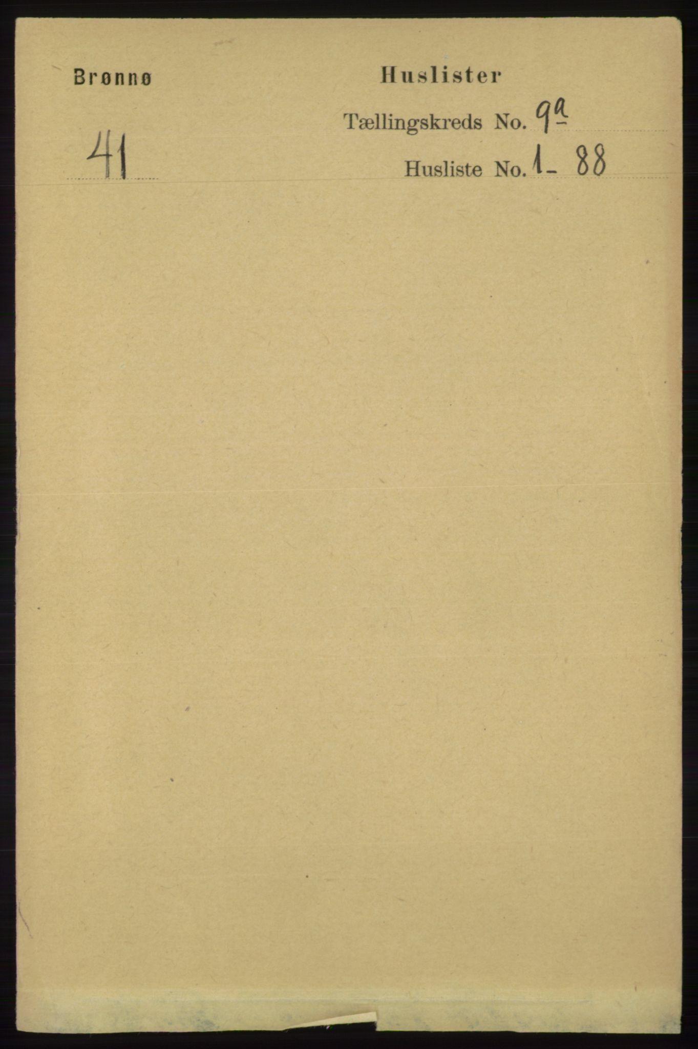RA, Folketelling 1891 for 1814 Brønnøy herred, 1891, s. 4817