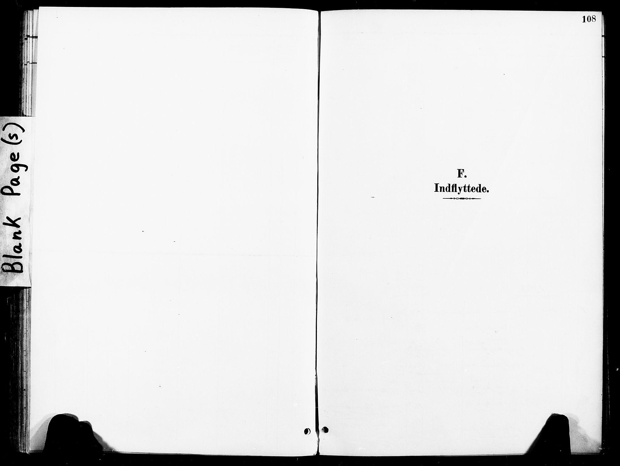 SAT, Ministerialprotokoller, klokkerbøker og fødselsregistre - Nord-Trøndelag, 740/L0379: Ministerialbok nr. 740A02, 1895-1907, s. 108