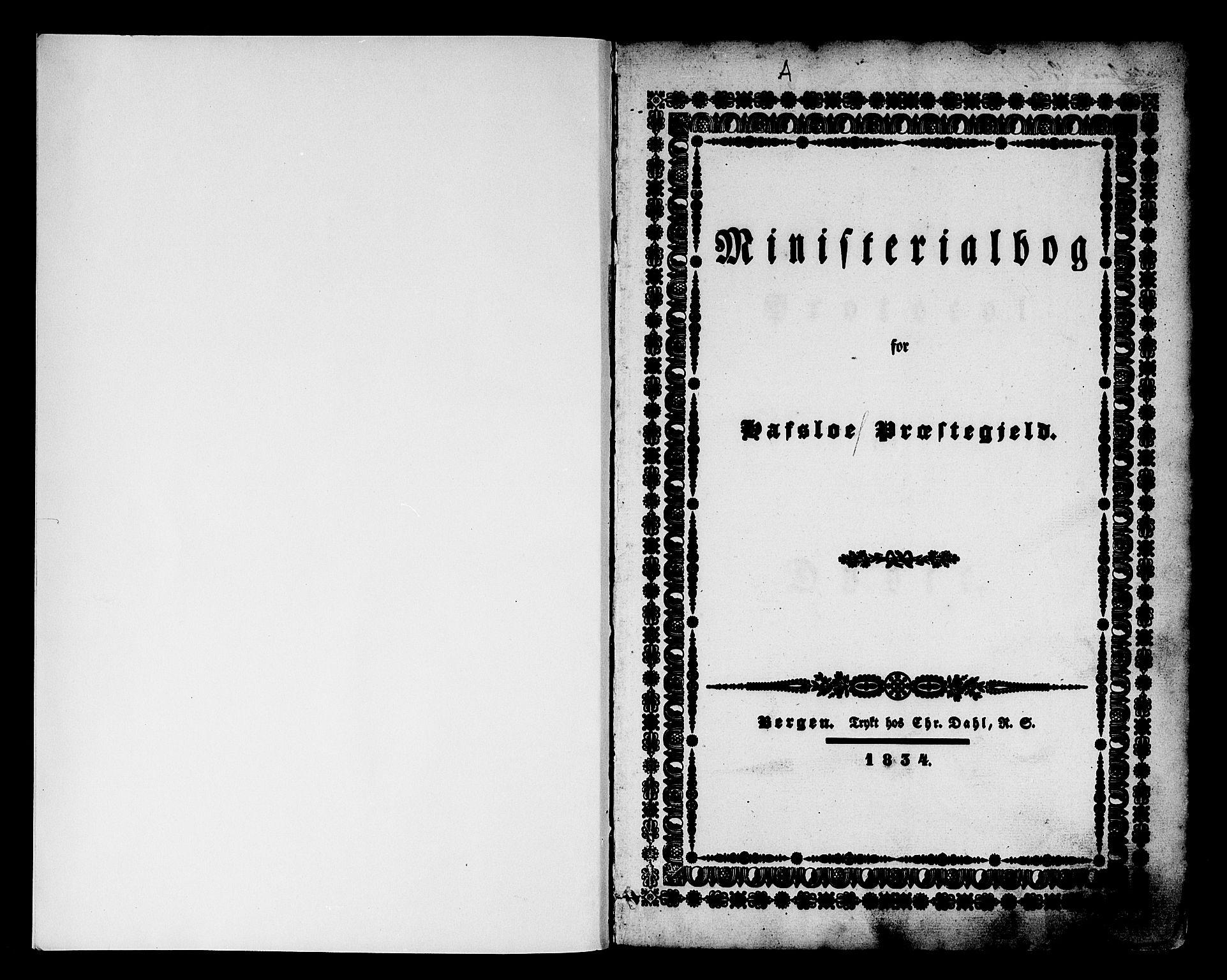 SAB, Hafslo Sokneprestembete, H/Haa/Haaa/L0005: Ministerialbok nr. A 5, 1834-1852