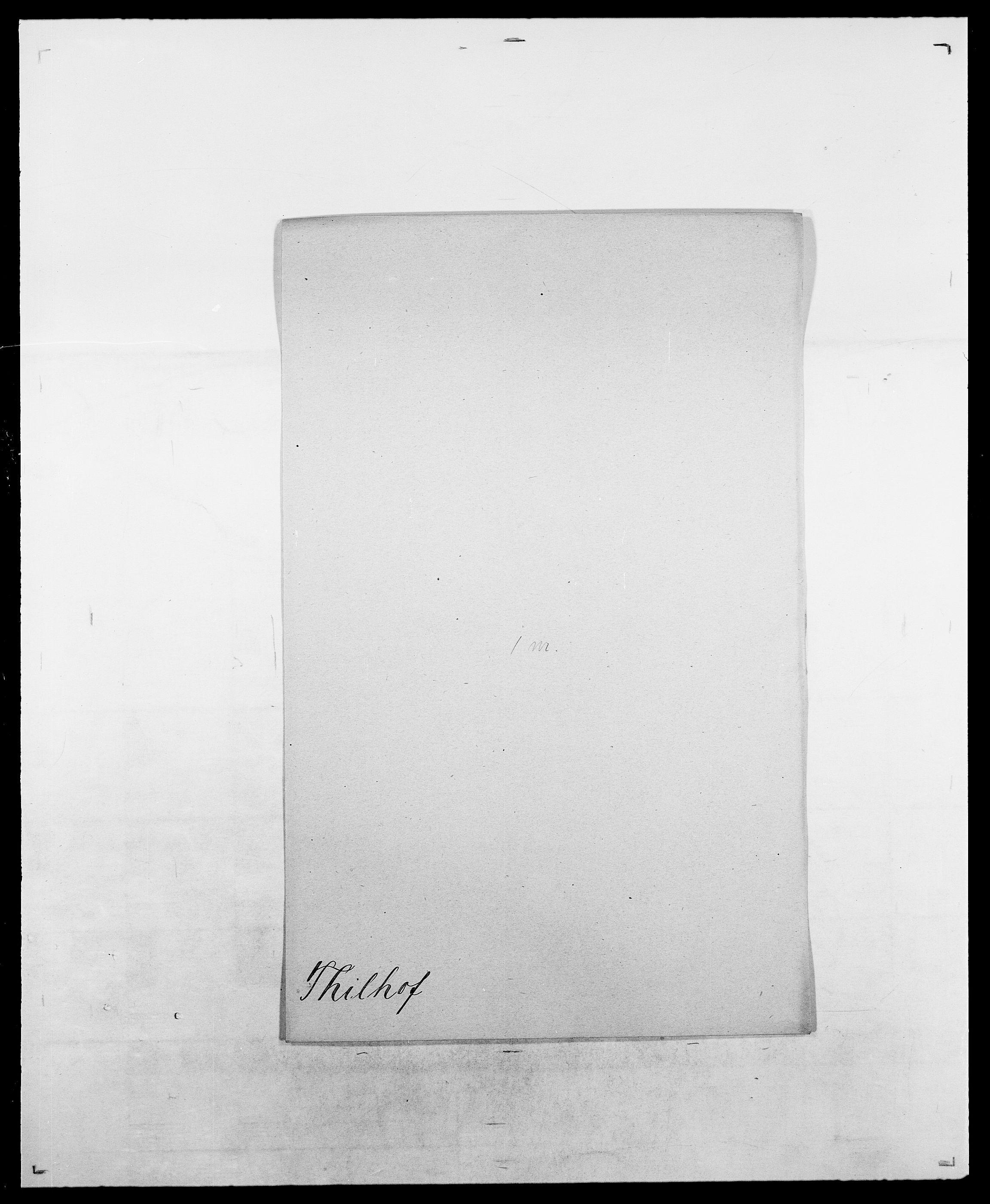 SAO, Delgobe, Charles Antoine - samling, D/Da/L0038: Svanenskjold - Thornsohn, s. 724