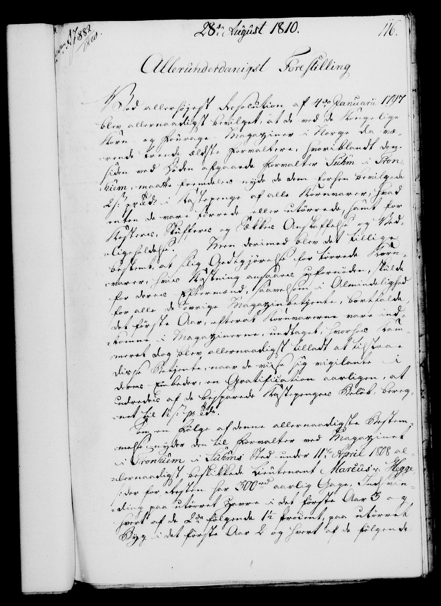 RA, Rentekammeret, Kammerkanselliet, G/Gf/Gfa/L0092: Norsk relasjons- og resolusjonsprotokoll (merket RK 52.92), 1810, s. 449