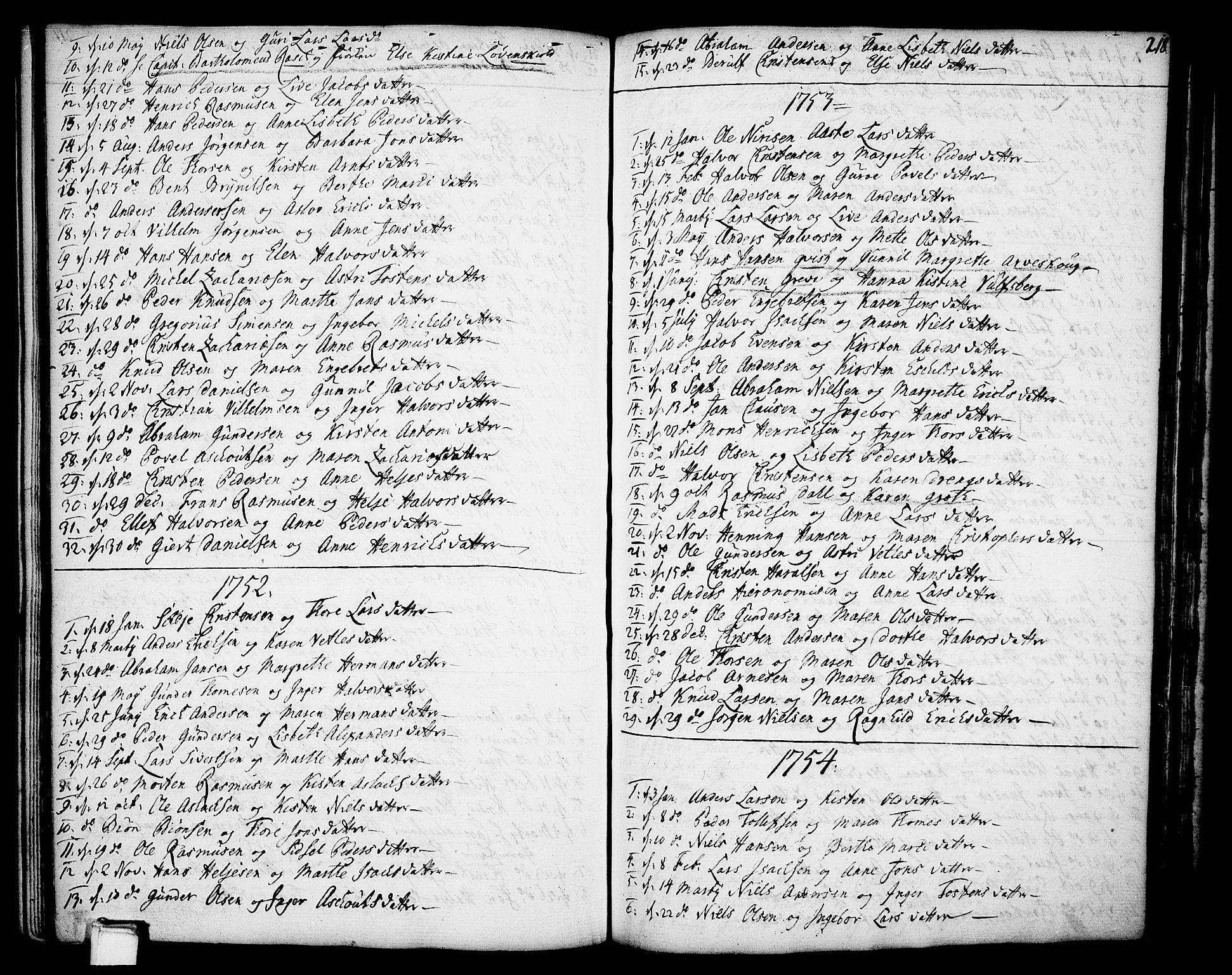 SAKO, Gjerpen kirkebøker, F/Fa/L0002: Ministerialbok nr. 2, 1747-1795, s. 218