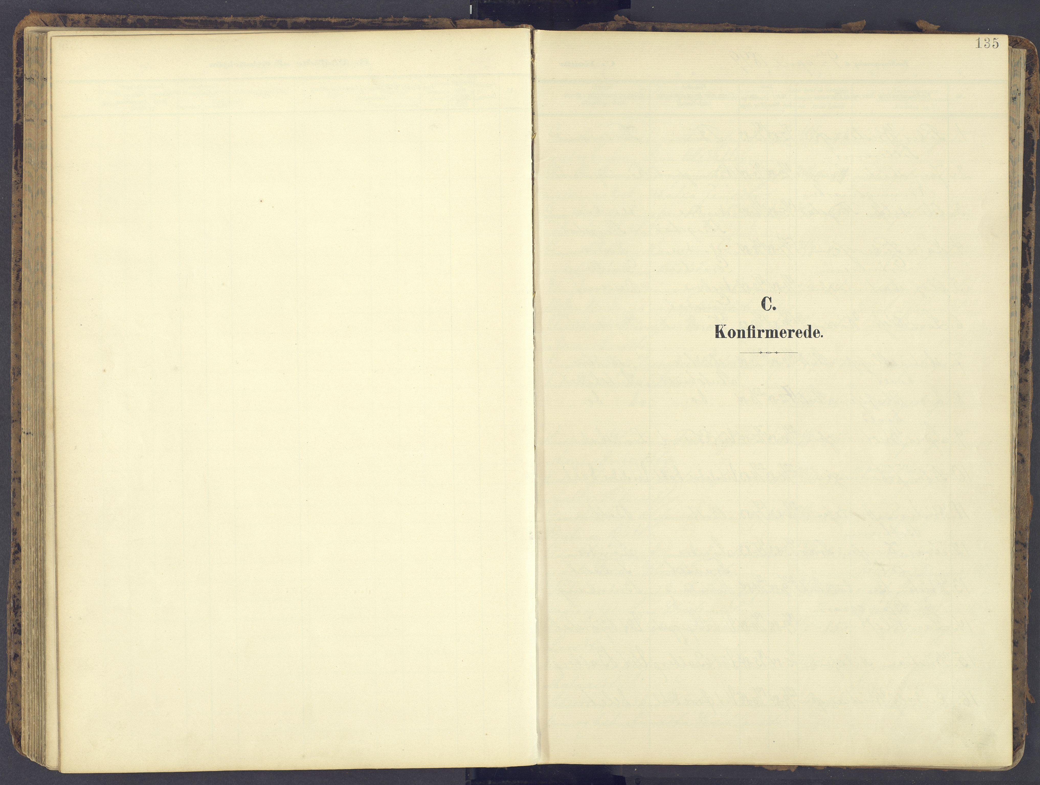 SAH, Fåberg prestekontor, Ministerialbok nr. 12, 1899-1915, s. 135
