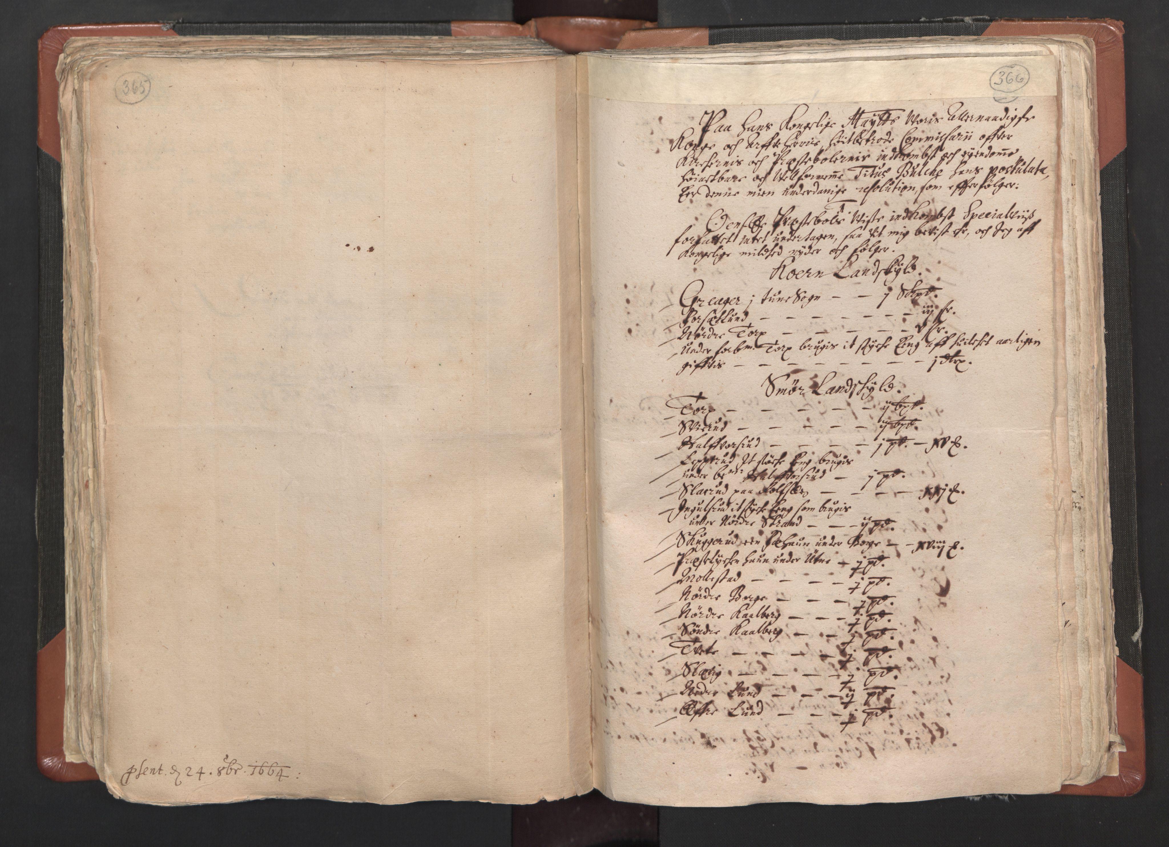 RA, Sogneprestenes manntall 1664-1666, nr. 1: Nedre Borgesyssel prosti, 1664-1666, s. 365-366