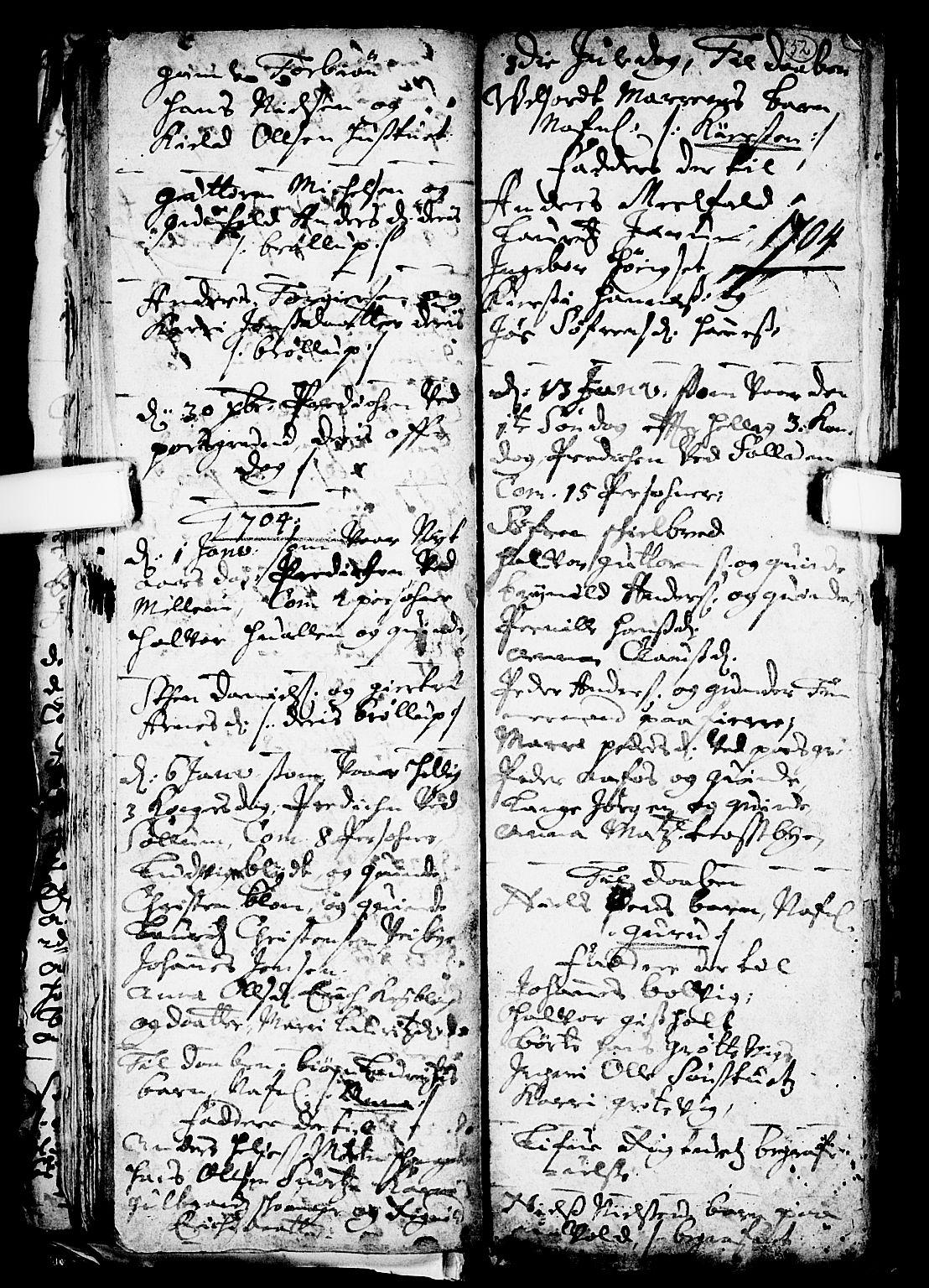 SAKO, Solum kirkebøker, F/Fa/L0001: Ministerialbok nr. I 1, 1701-1716, s. 52