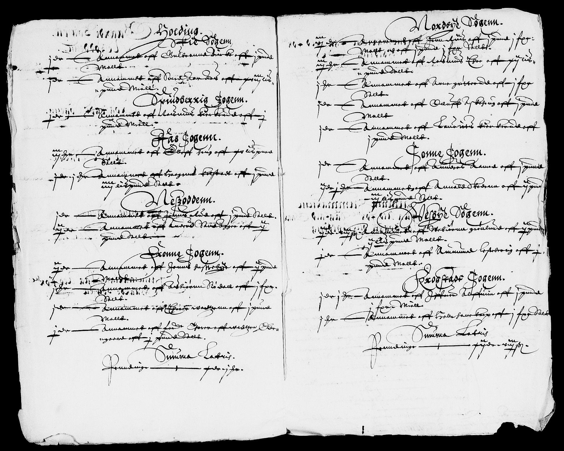RA, Rentekammeret inntil 1814, Reviderte regnskaper, Lensregnskaper, R/Rb/Rba/L0061: Akershus len, 1622-1623